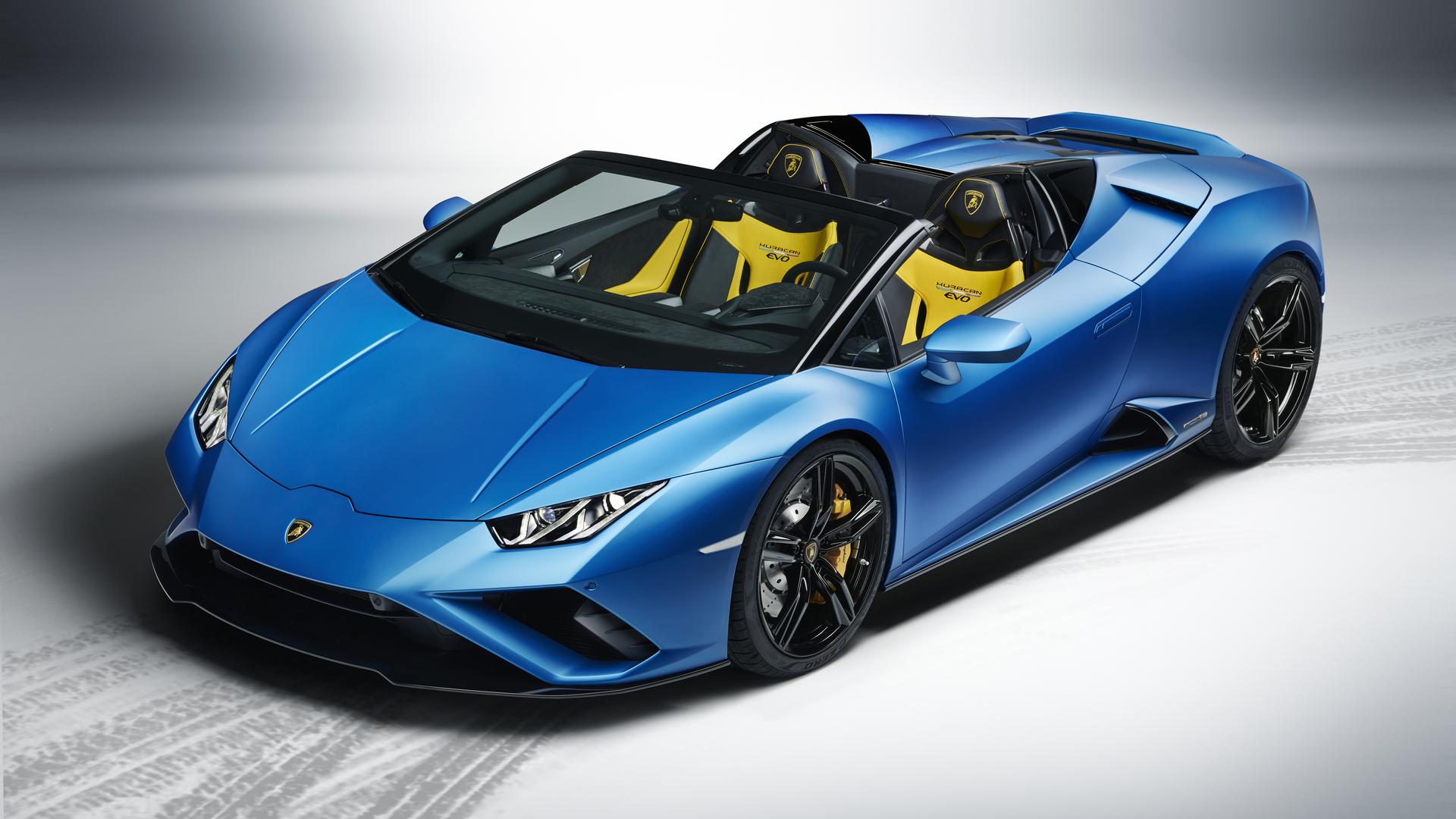 1920x1080 Lamborghini Huracan Evo Spyder 2020 New Laptop ...
