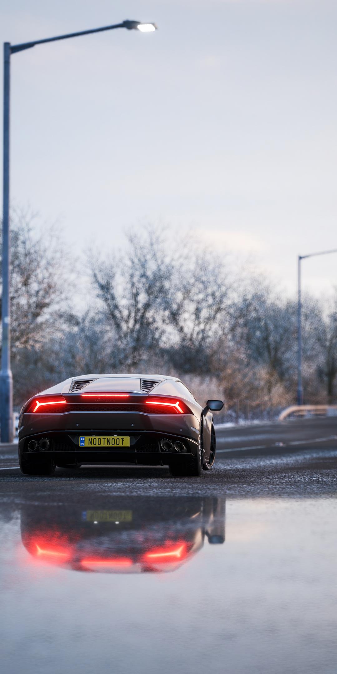 1080x2160 Lamborghini Huracan Forza Horizon 4 One Plus 5t Honor 7x