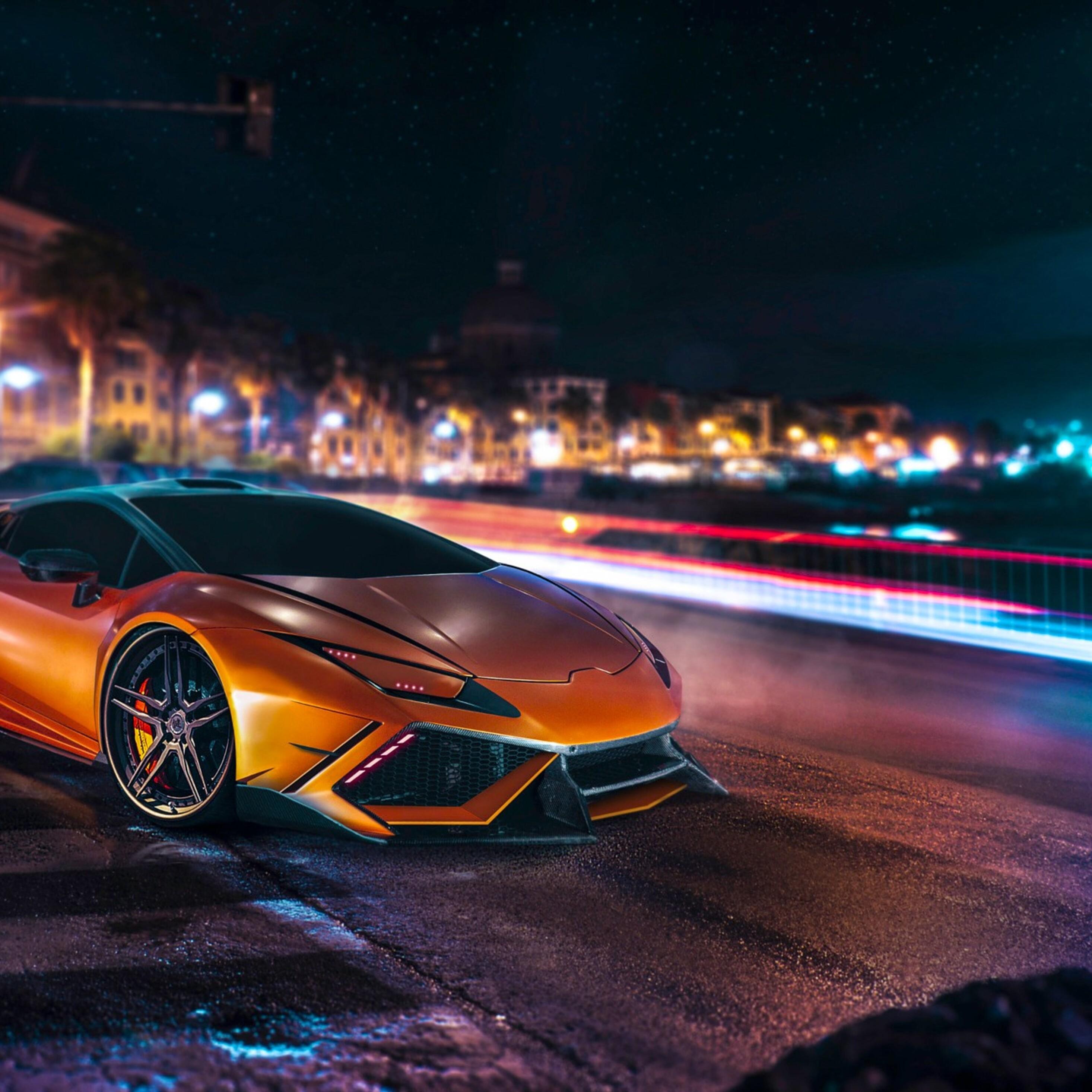 2932x2932 Lamborghini Huracan Full HD Ipad Pro Retina