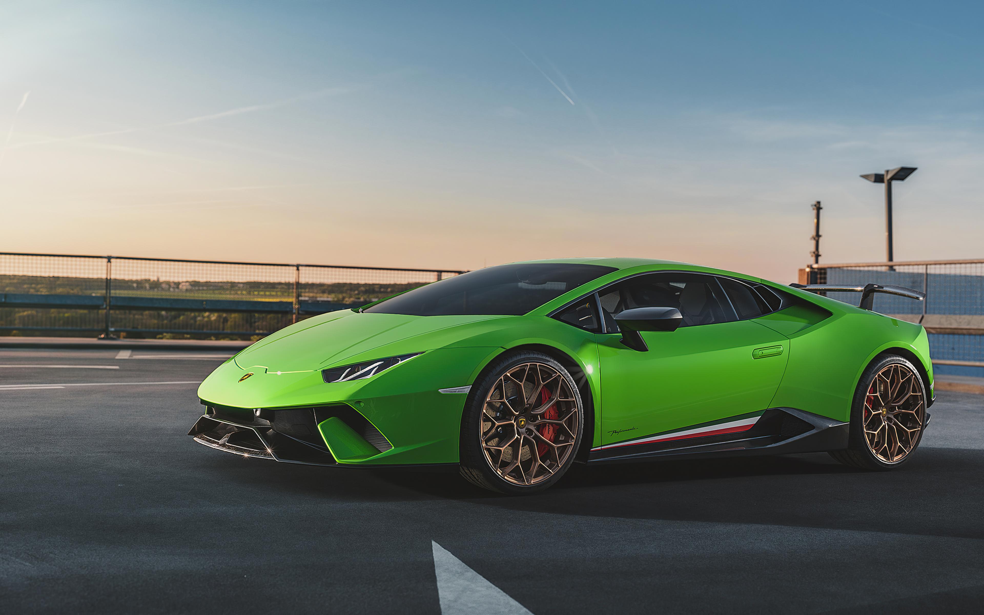 3840x2400 Lamborghini Huracan Performante Front 4k 4k HD ...