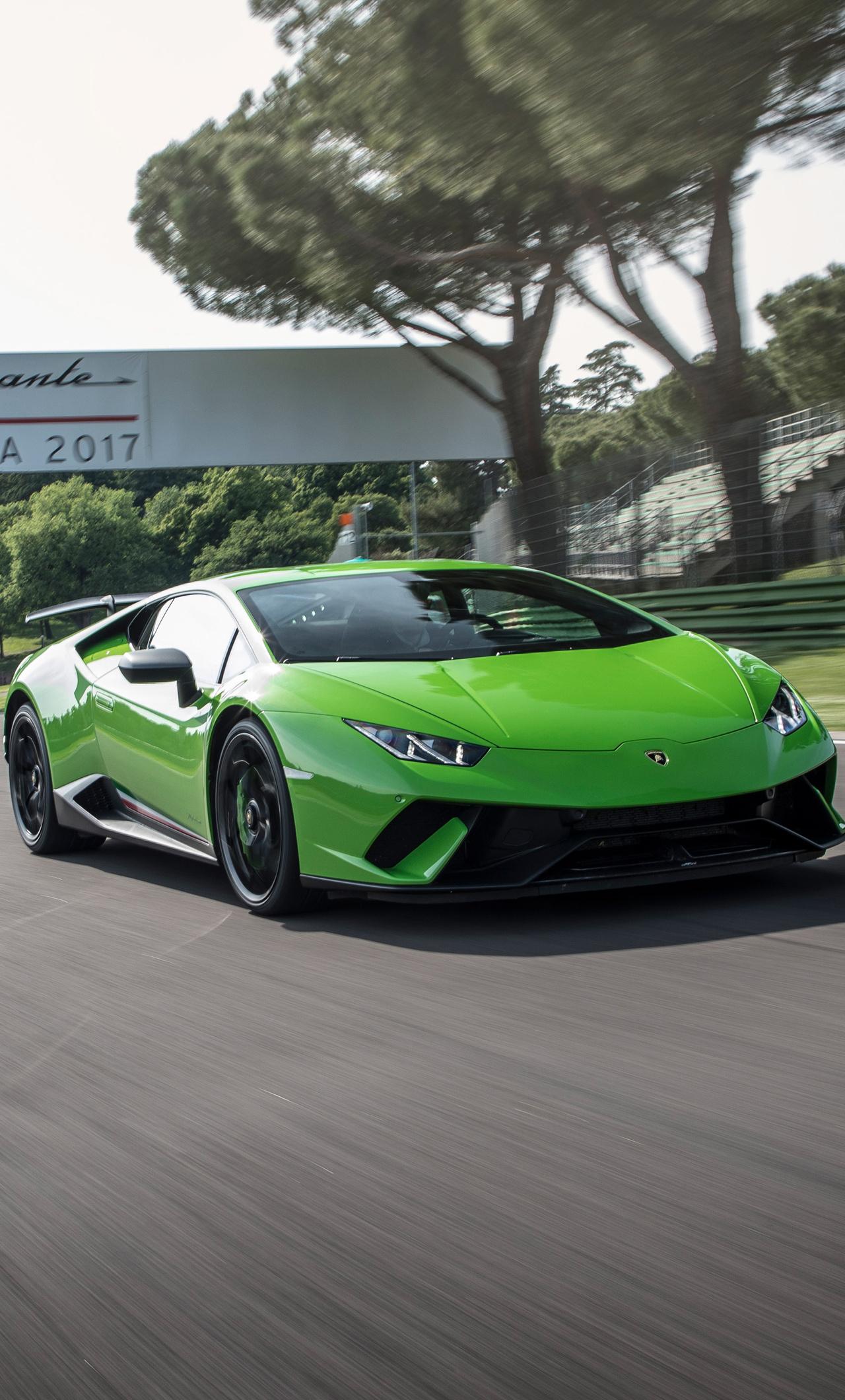 1280x2120 Lamborghini Huracan Performante Super Car Iphone 6 Hd 4k