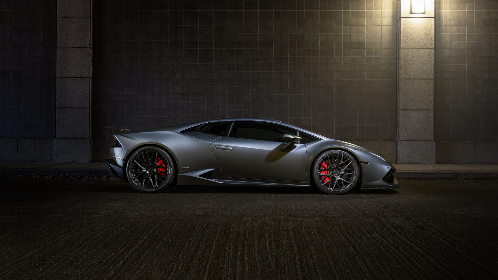 1920x1080 Lamborghini Huracan Rfx10 Matte Black Laptop Full Hd 1080p