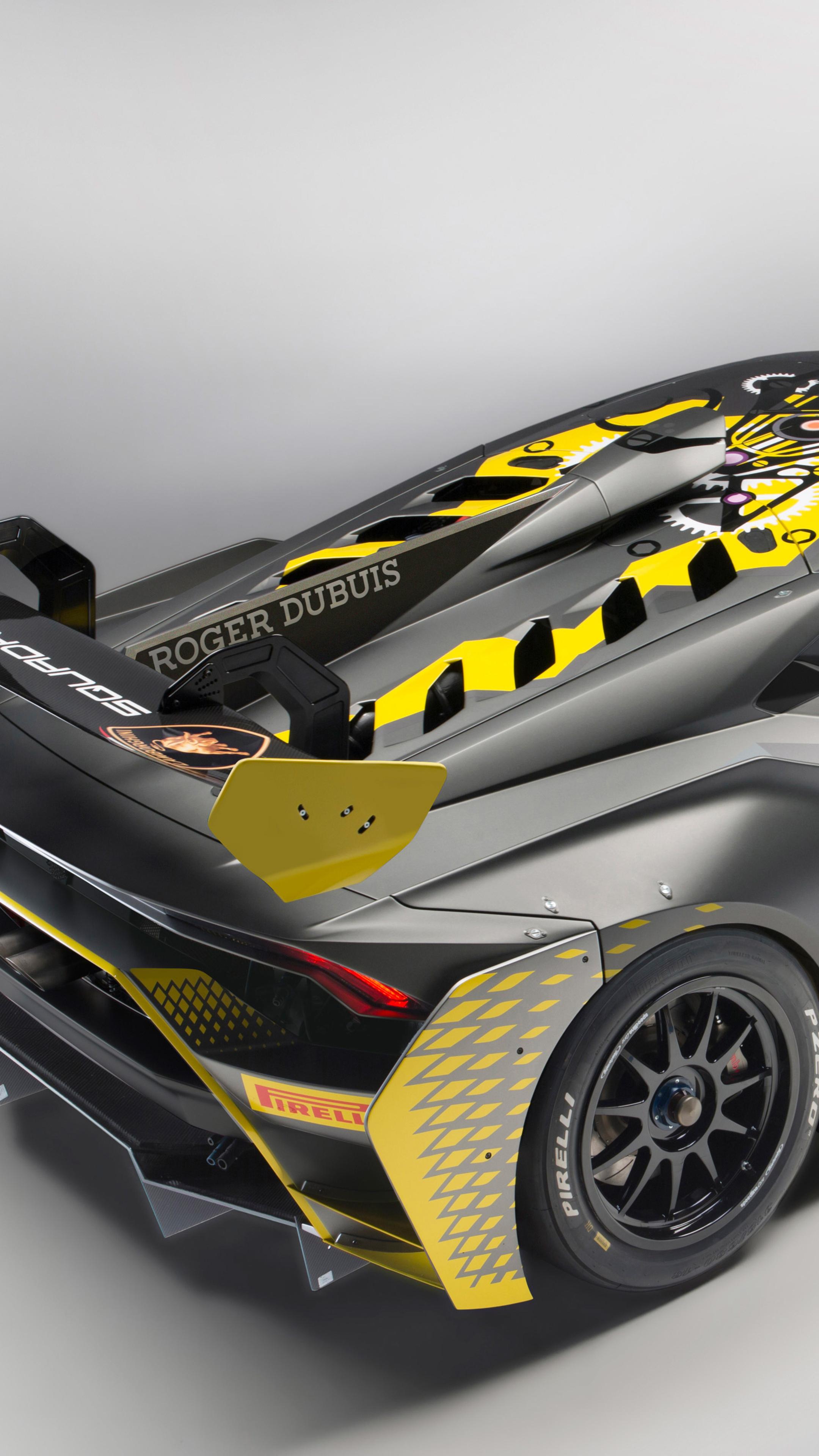 Lamborghini Huracan Super Trofeo Evo 2018 Rear Tf.