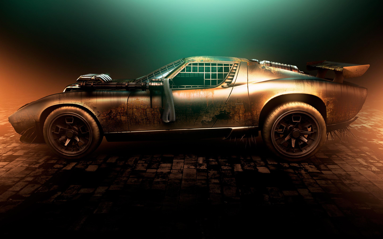 2880x1800 Lamborghini Miura Mad Max Macbook Pro Retina Hd 4k