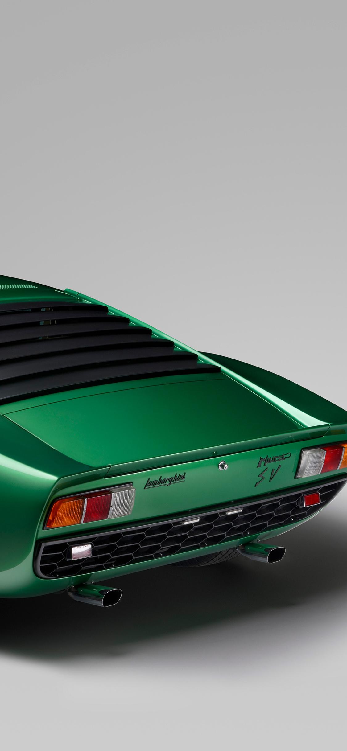 1125x2436 Lamborghini Miura P400 Sv 1971 Iphone Xs Iphone 10 Iphone