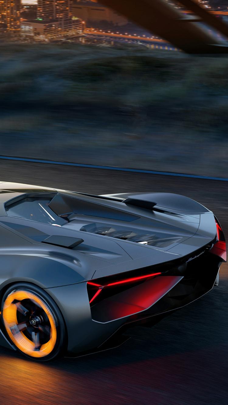 750x1334 Lamborghini Terzo Millennio 2017 4k Iphone 6 Iphone 6s