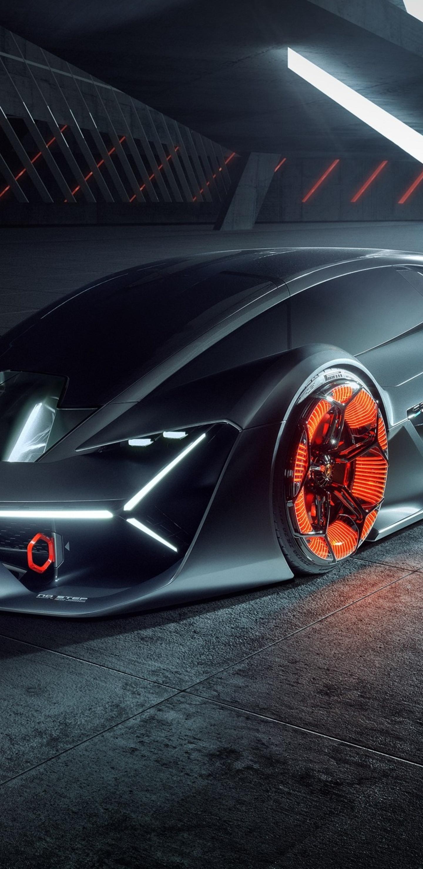 1440x2960 Lamborghini Terzo Millennio 2019 Car Samsung Galaxy Note 9
