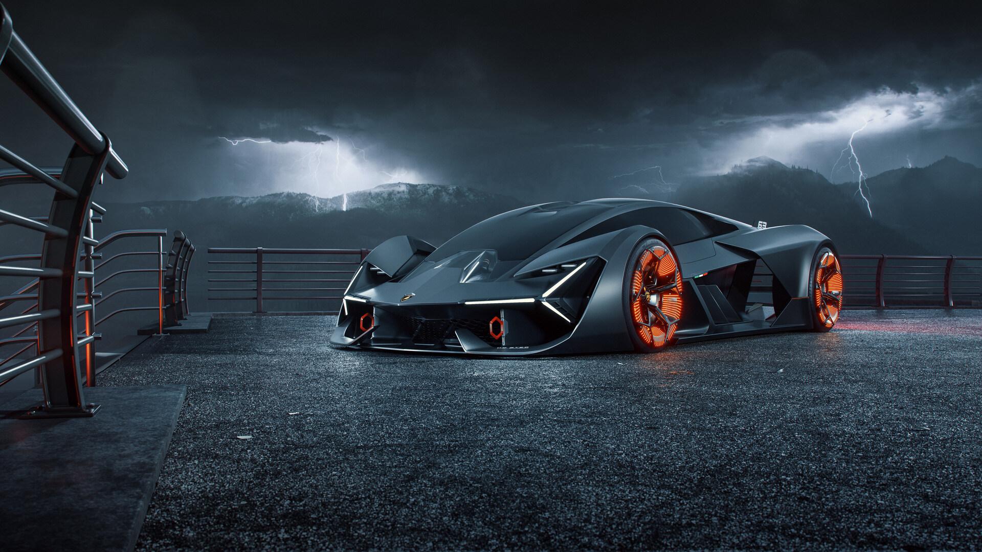 1920x1080 Lamborghini Terzo Millennio Digital Art 2019 ...
