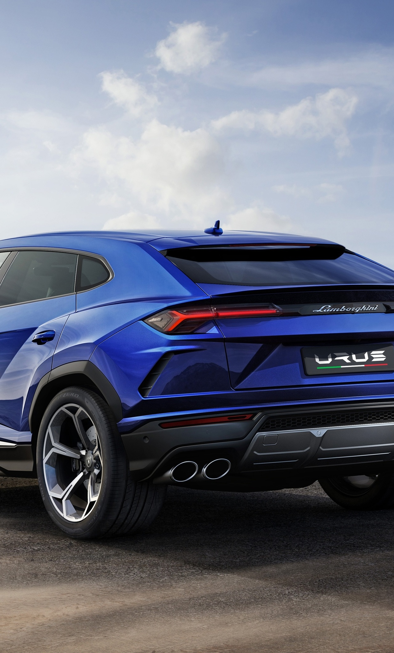 1280x2120 lamborghini urus blue color 4k iphone 6+ hd 4k wallpapers