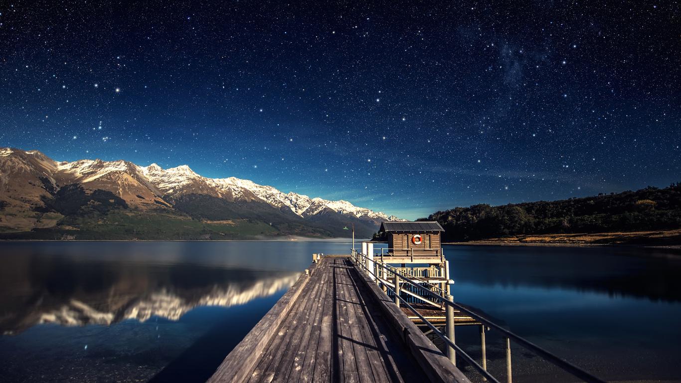 Landscape Reflection Lake Full Hd