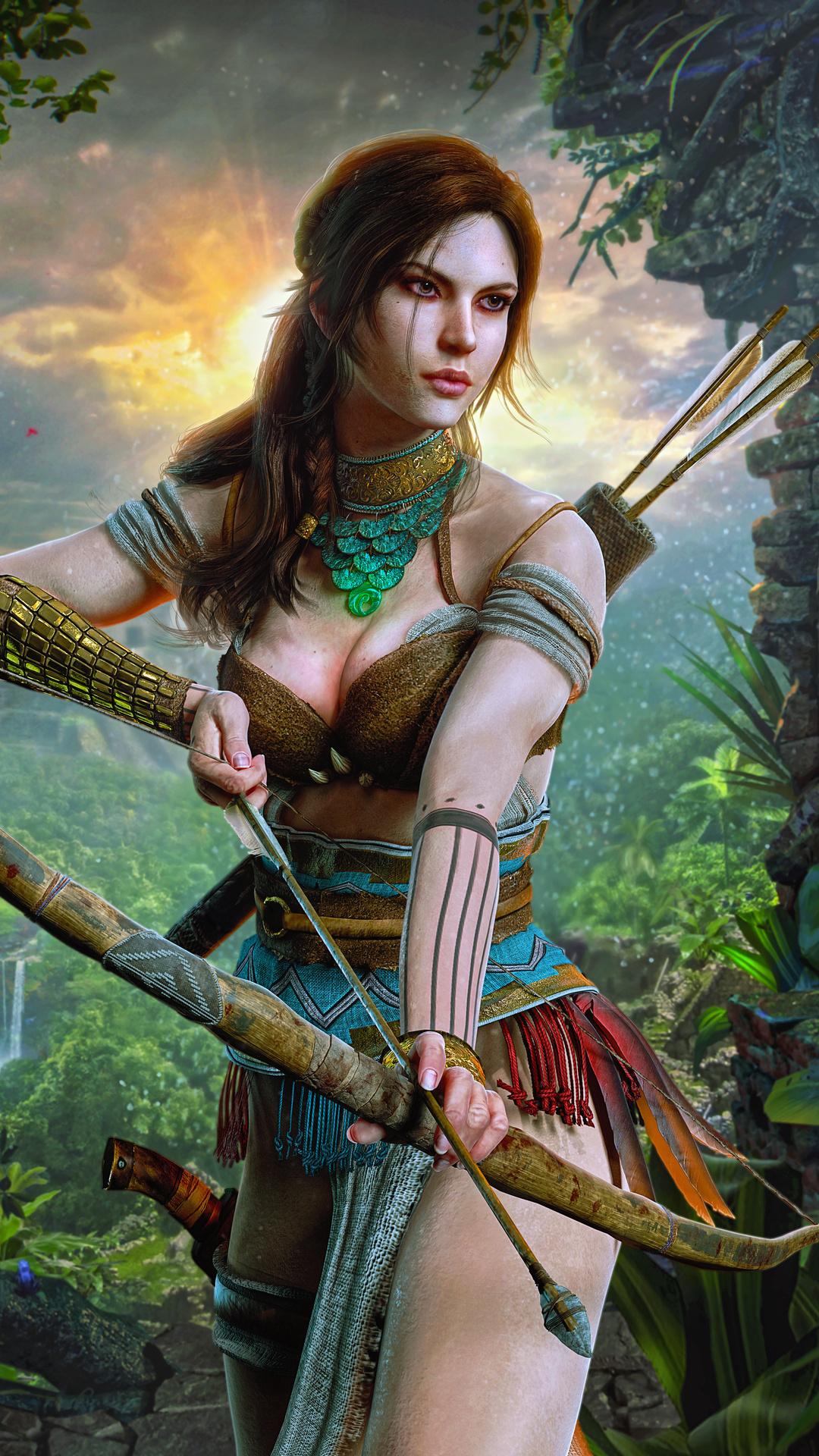 Lara-Croft from-Tomb-Raider-by-Octokuro_Model