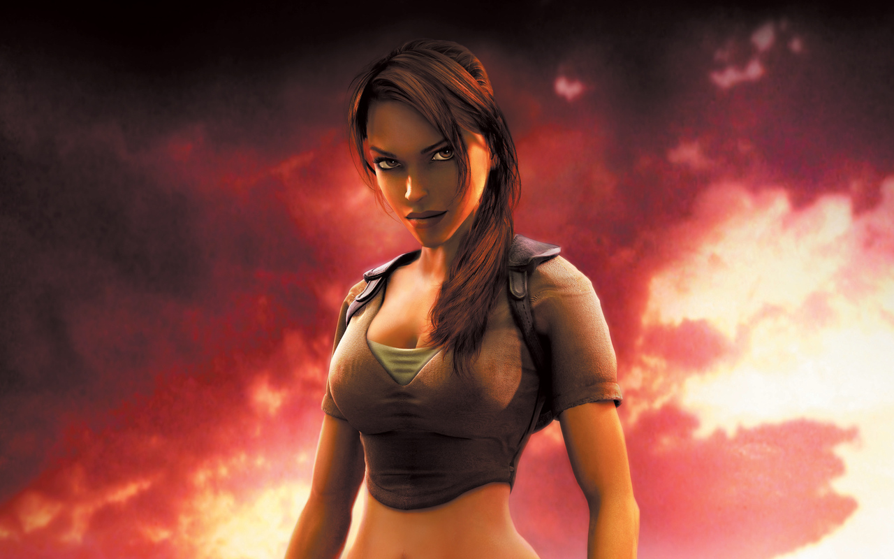 1280x800 Lara Croft In Tomb Raider Game 4k 720p Hd 4k Wallpapers