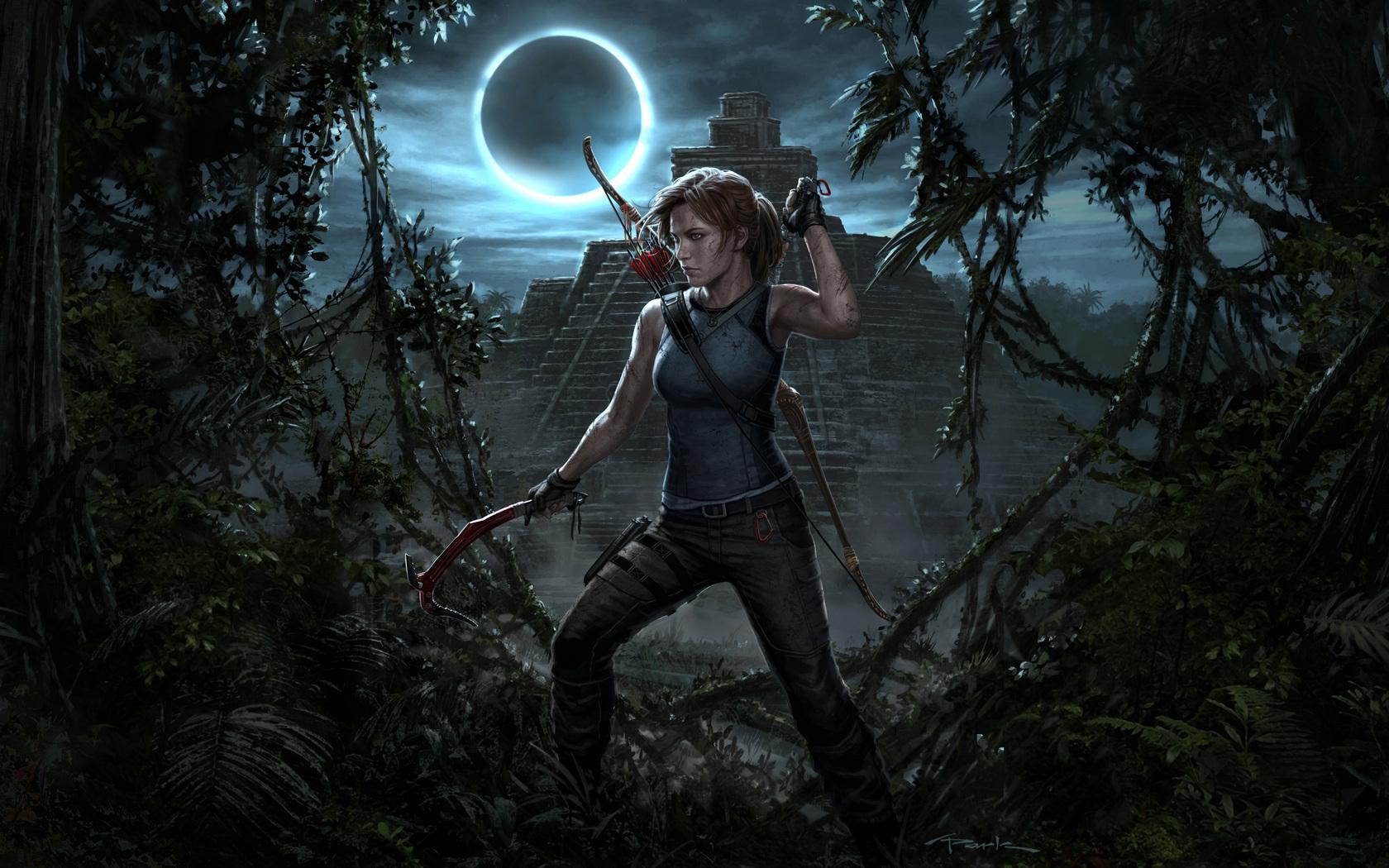 1680x1050 Lara Croft Shadow Of The Tomb Raider 4k 1680x1050