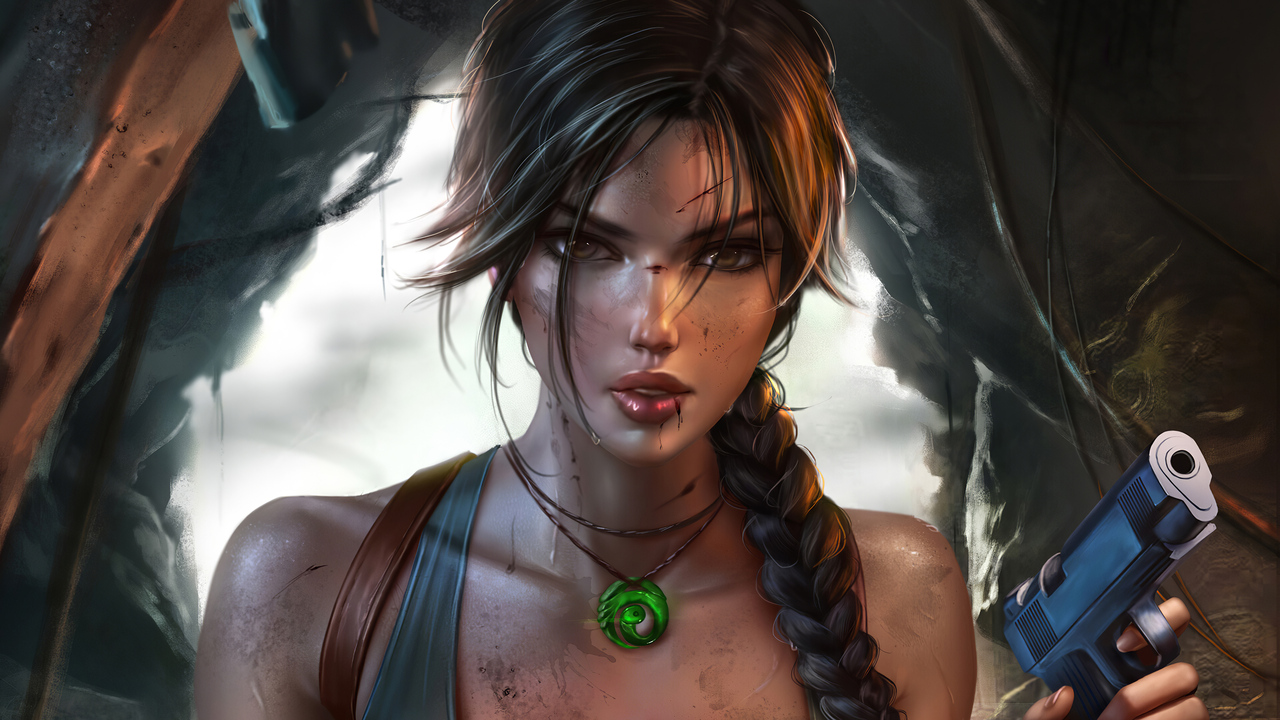 1280x720 Lara Croft Tomb Raider Fantasy 4k 720p Hd 4k Wallpapers