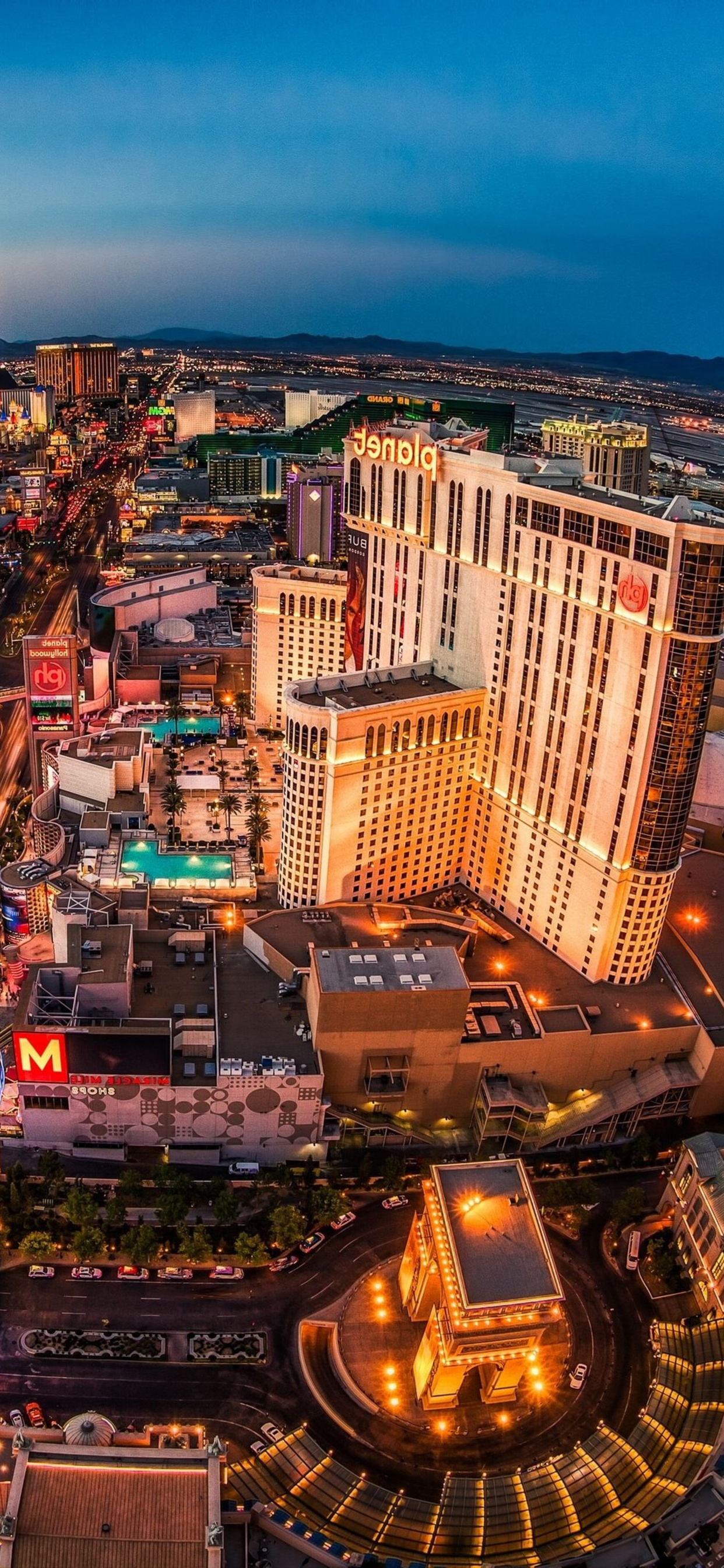 Iphone Xs Max Las Vegas Wallpaper