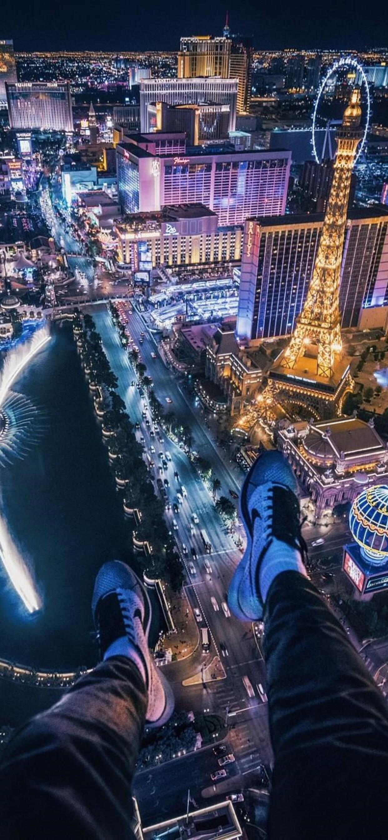 1242x2688 Las Vegas Cityscape Iphone Xs Max Hd 4k Wallpapers