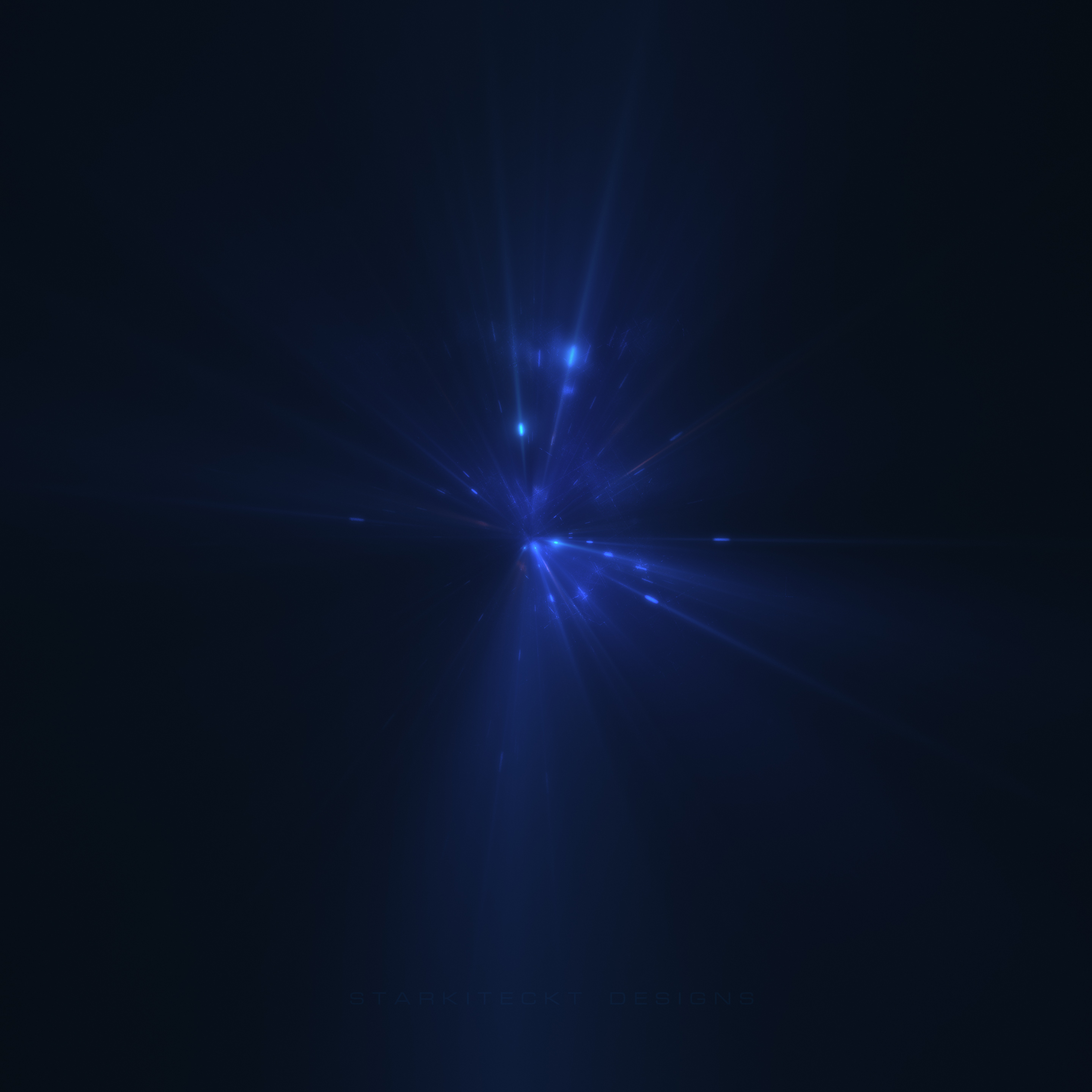 2932x2932 Last Blue Light Digital Art 5k Ipad Pro Retina Display HD