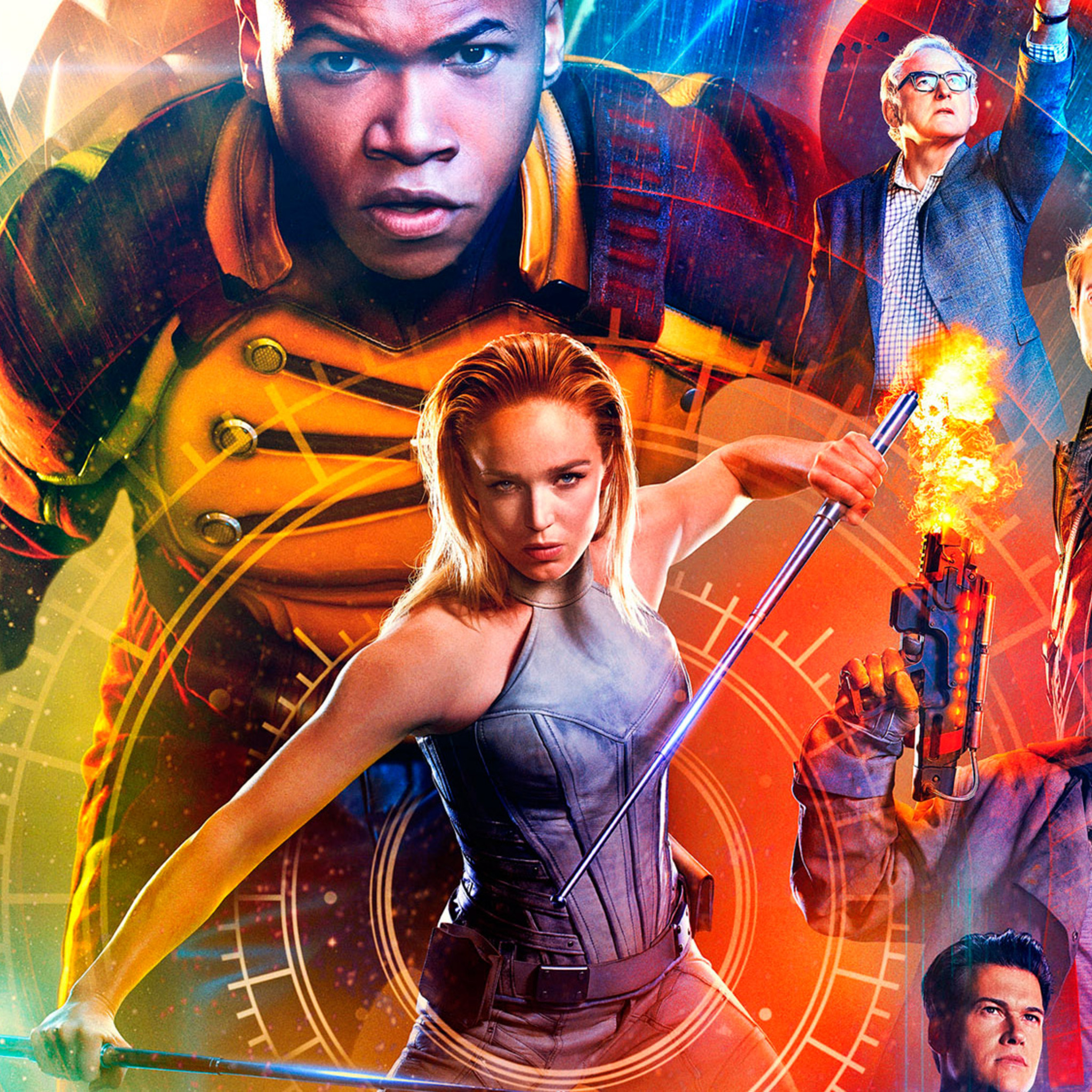 2048x2048 Legends Of Tomorrow Season 2 HD Ipad Air HD 4k