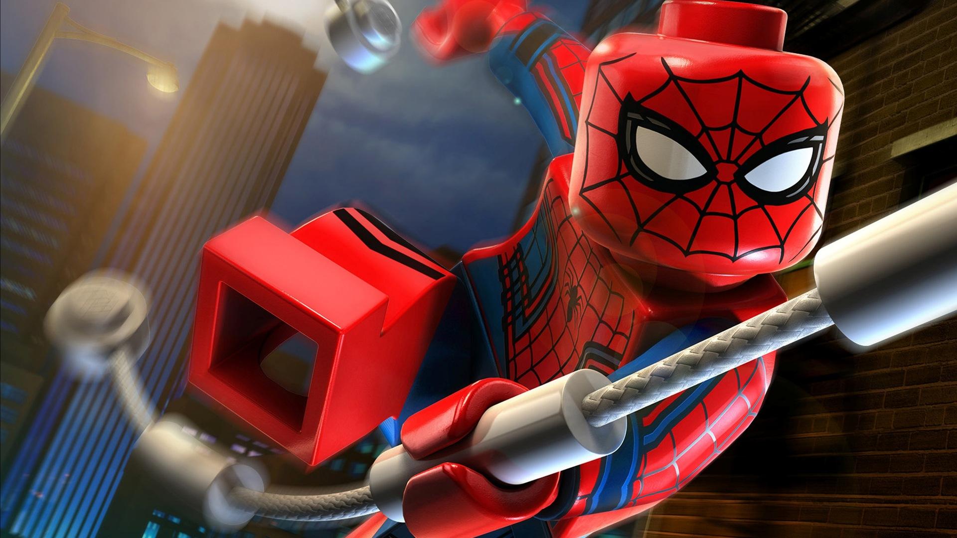 1920x1080 Lego Spiderman Homecoming Laptop Full Hd 1080p Hd