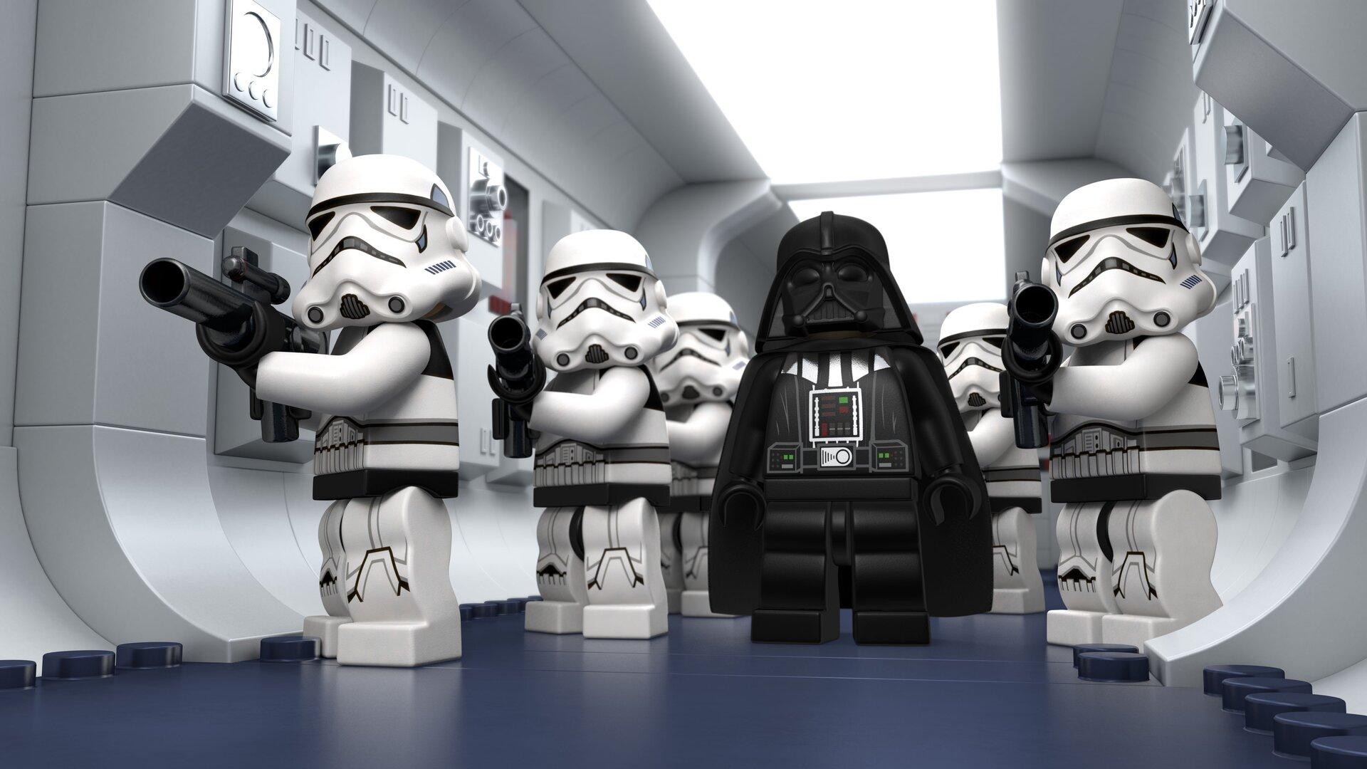 1920x1080 Lego Star Wars Droid Tales Stormtrooper Laptop Full Hd