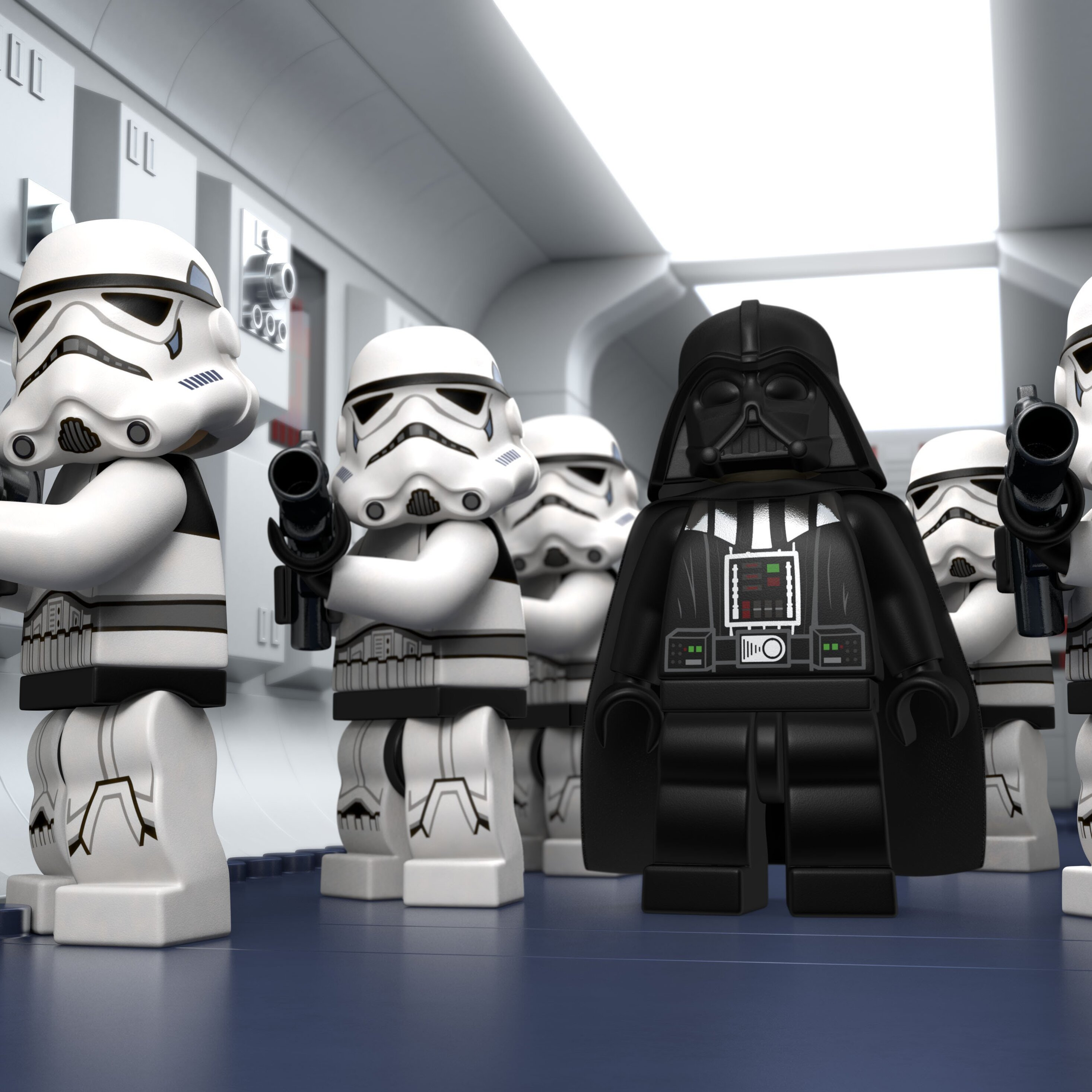 2932x2932 Lego Star Wars Droid Tales Stormtrooper Ipad Pro Retina Display Hd 4k Wallpapers Images Backgrounds Photos And Pictures