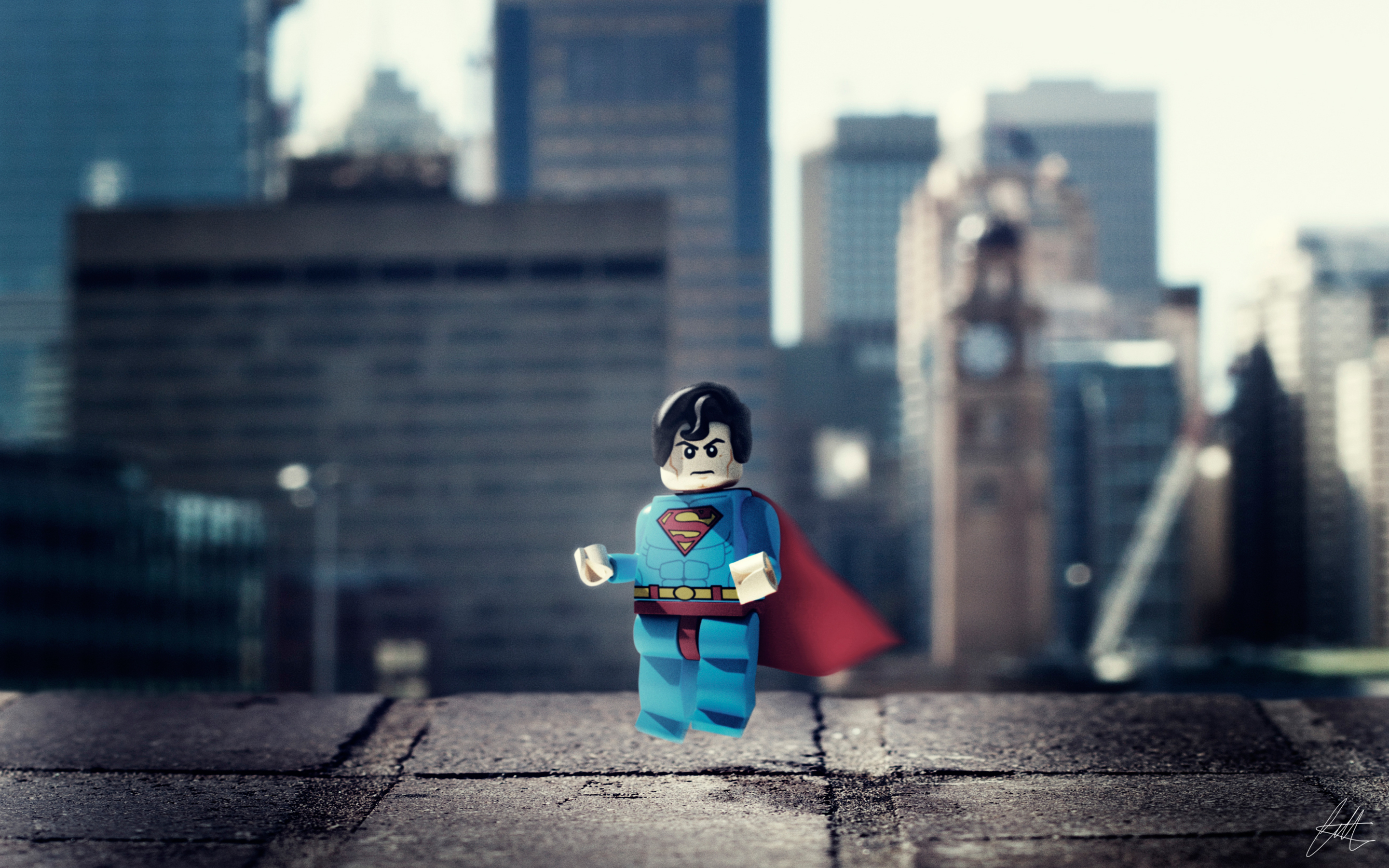 2880x1800 Lego Superman Hero Macbook Pro Retina Hd 4k Wallpapers
