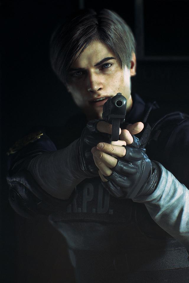 640x960 Leon Kennedy Resident Evil 2 4k iPhone 4, iPhone ...