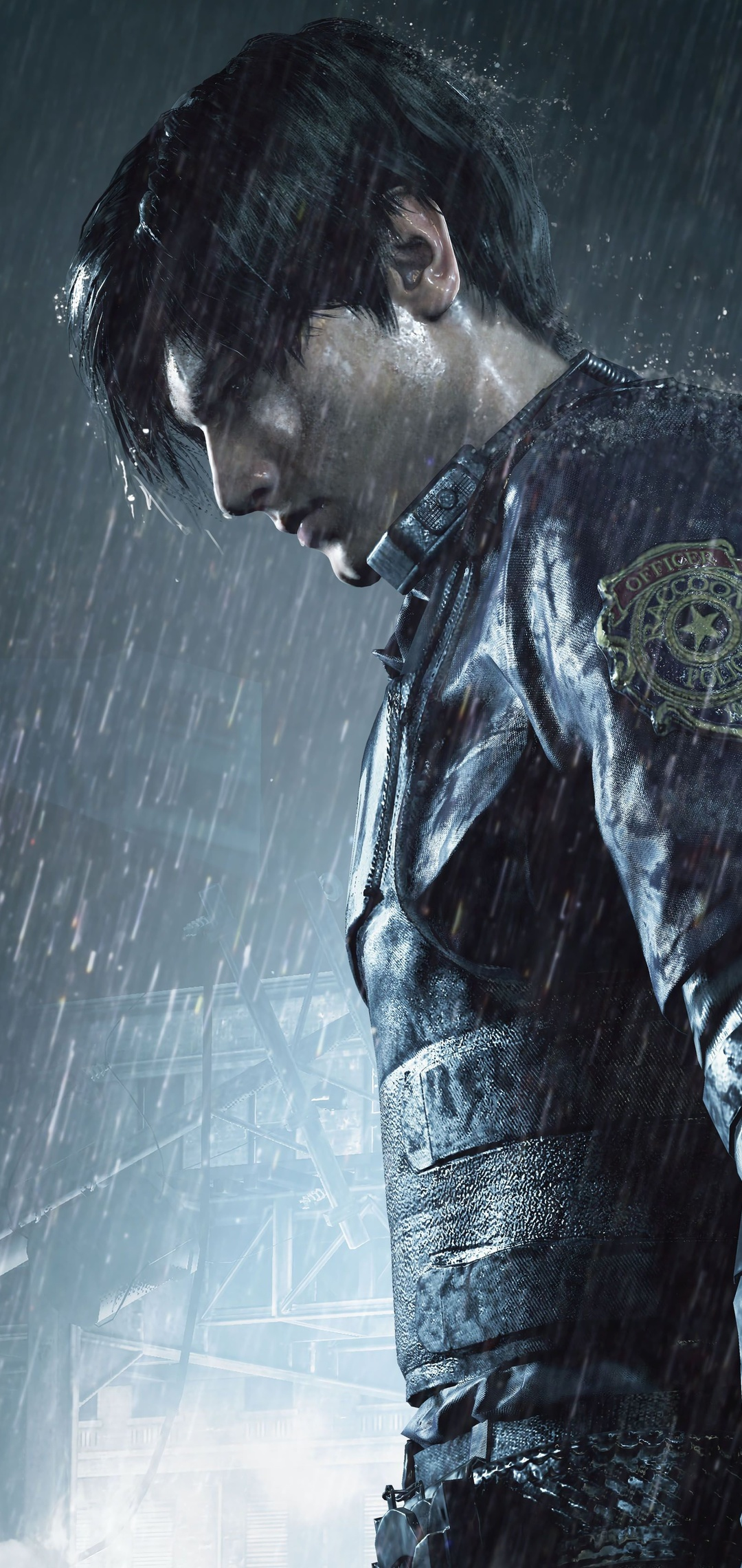1080x2280 Leon Kennedy Resident Evil 2 One Plus 6 Huawei P20 Honor