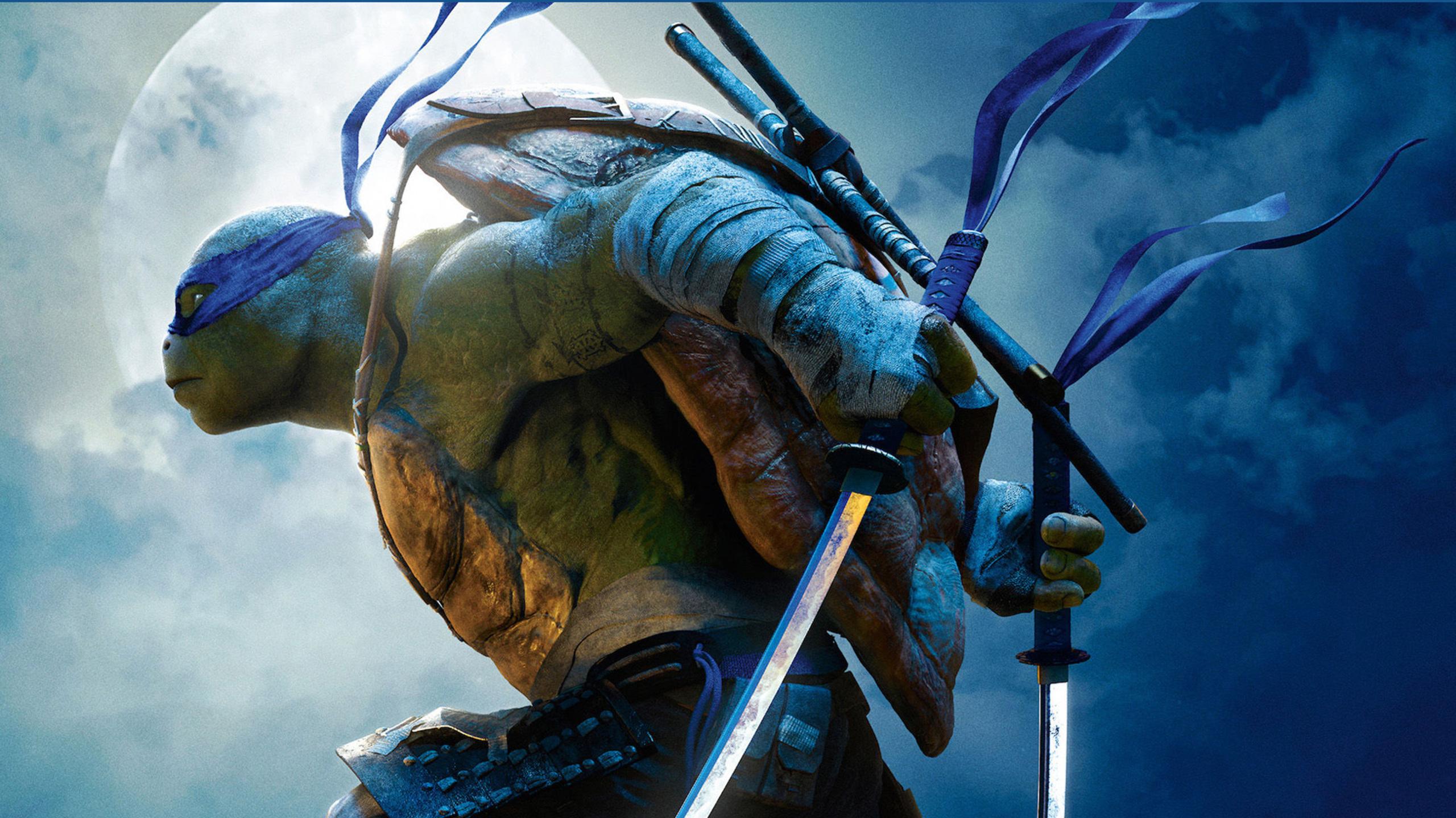 2560x1440 Leonardo Teenage Mutant Ninja Turtles Out of the ...