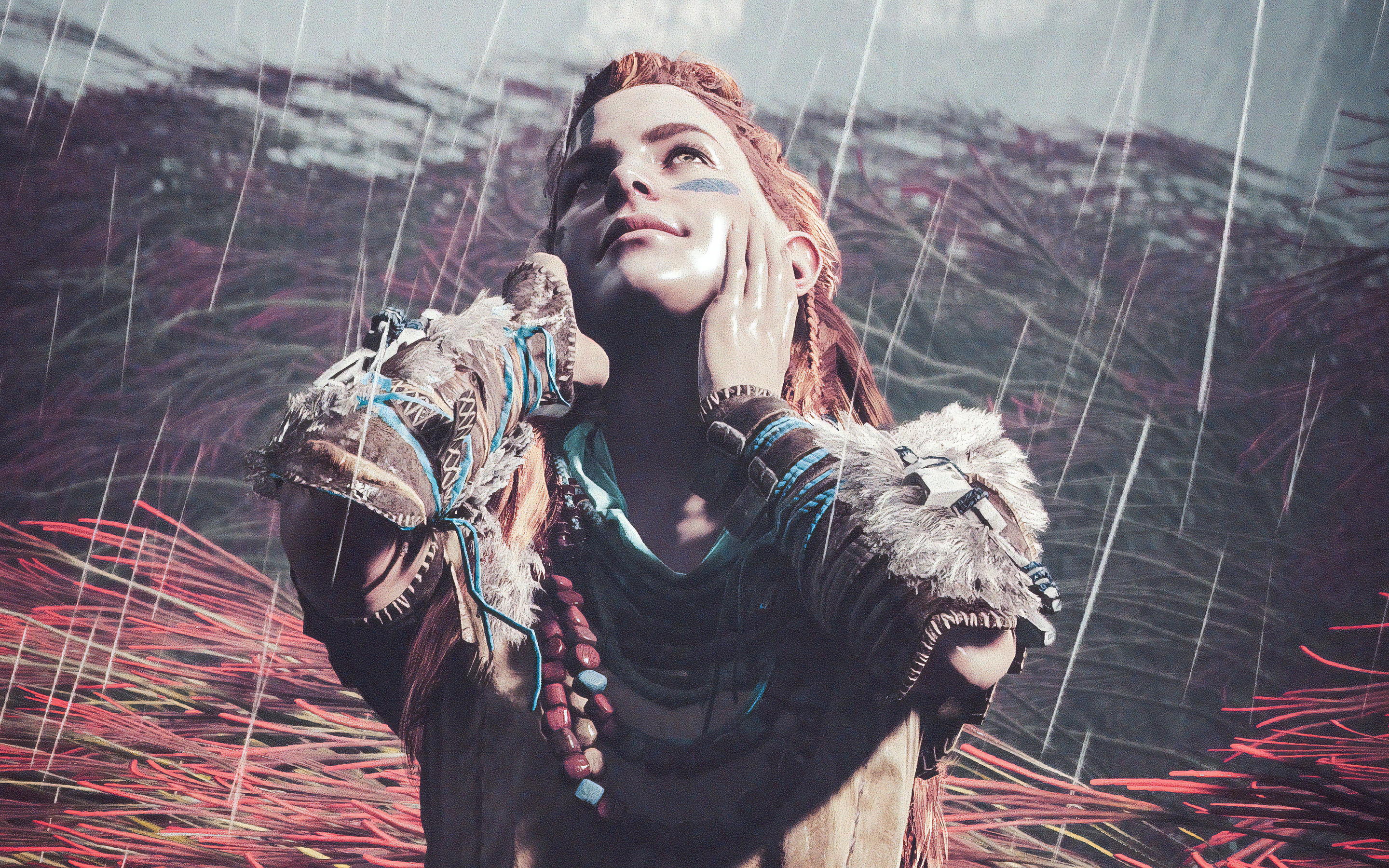 2880x1800 Life Is Good Aloy Horizon Zero Dawn 4k Macbook Pro