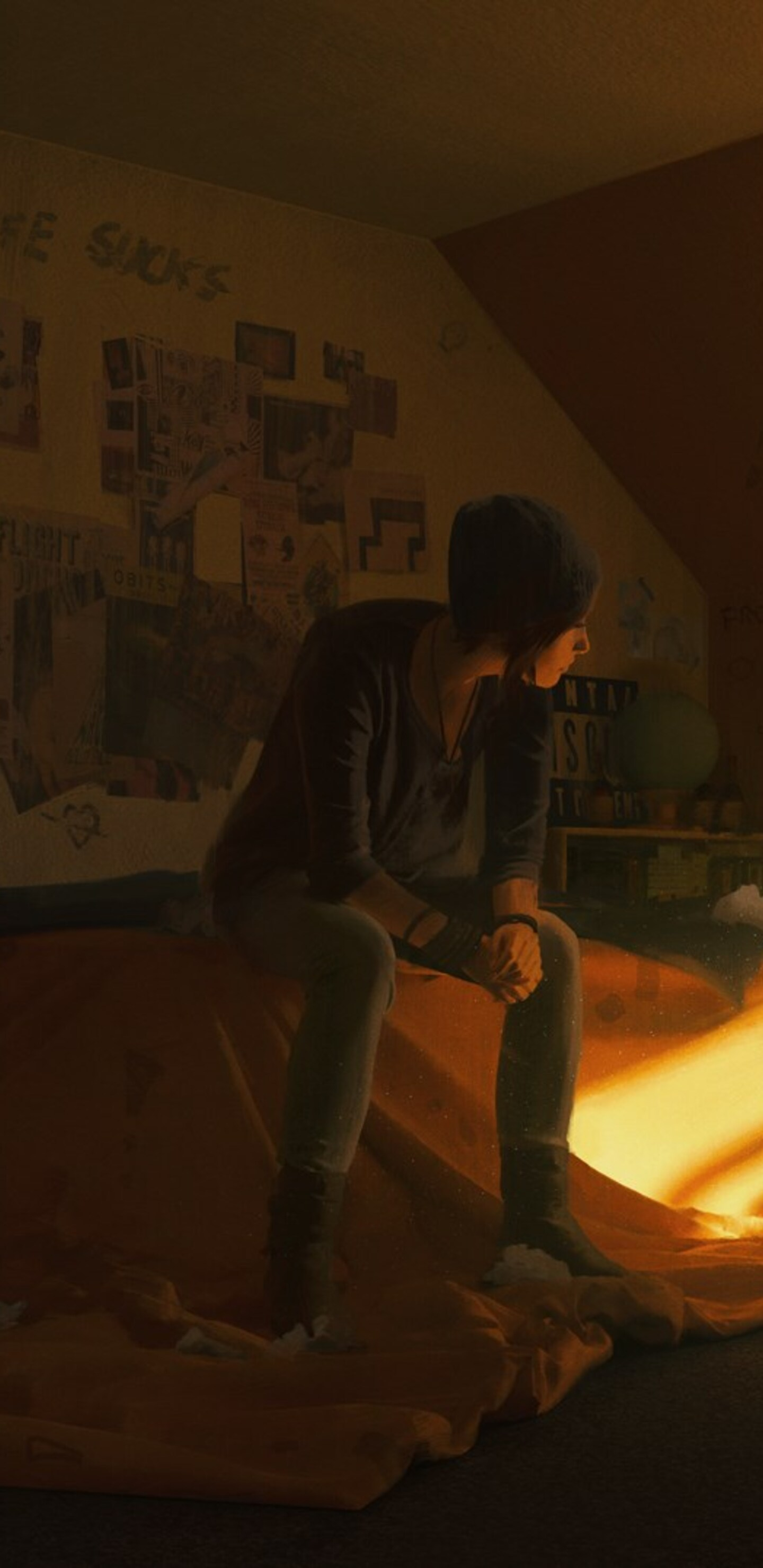1440x2960 Life Is Strange Video Game Samsung Galaxy Note 9 8 S9 S8
