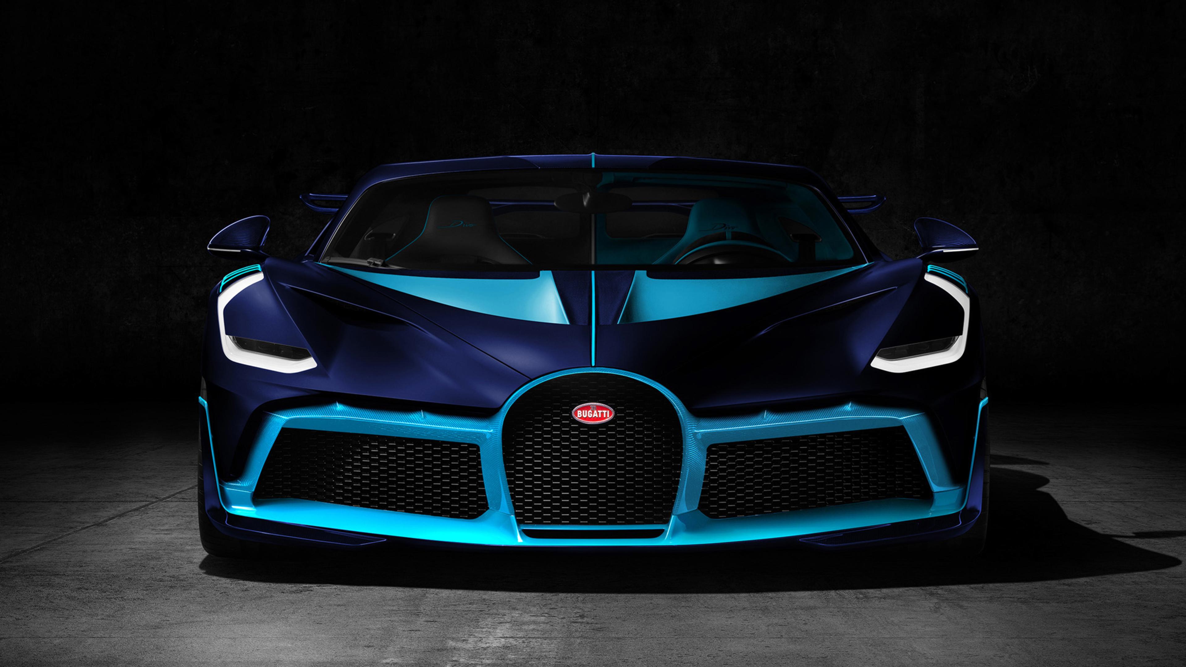 Bugatti Divo Blue And Black Supercars Gallery