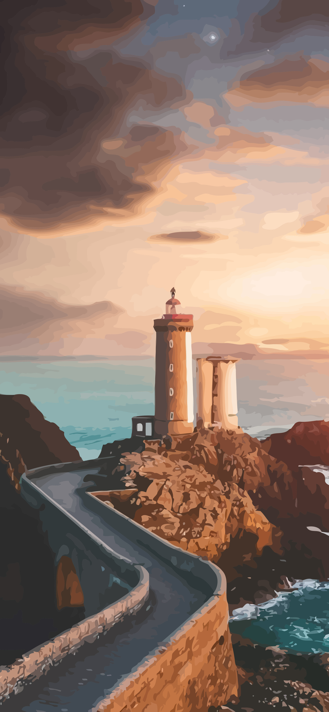 1125x2436 Lighthouse Artistic Iphone Xs Iphone 10 Iphone X