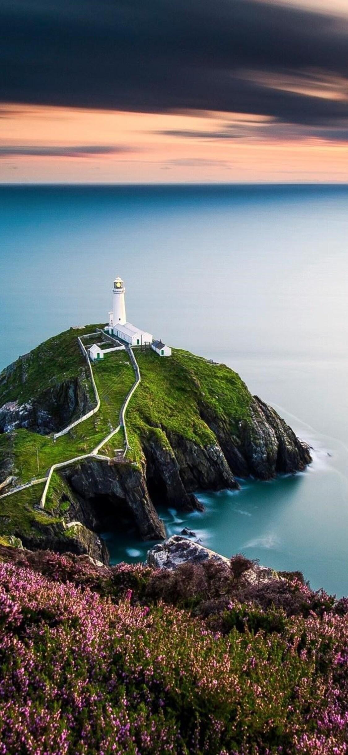 1125x2436 Lighthouse Landscape Iphone Xs Iphone 10 Iphone X