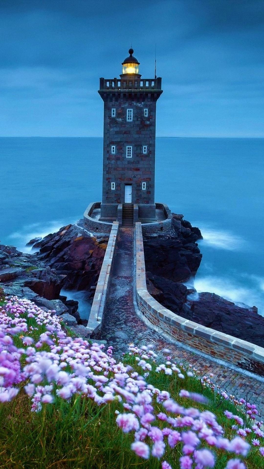 1080x1920 Lighthouse Spring Iphone 7 6s 6 Plus Pixel xl e Plus 3