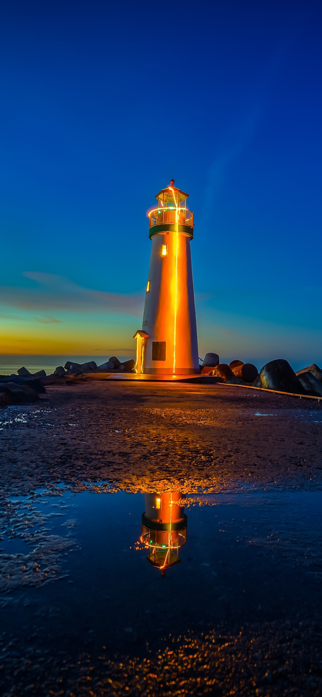 1125x2436 Lighthouses Sunrises And ...