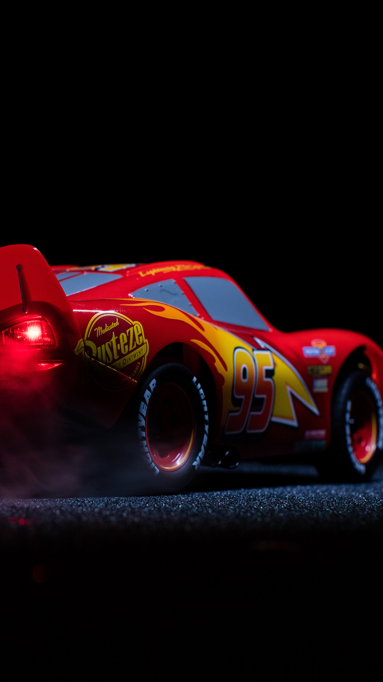 750x1334 Lightning Mcqueen Cars 3 Pixar Disney 4k Iphone 6
