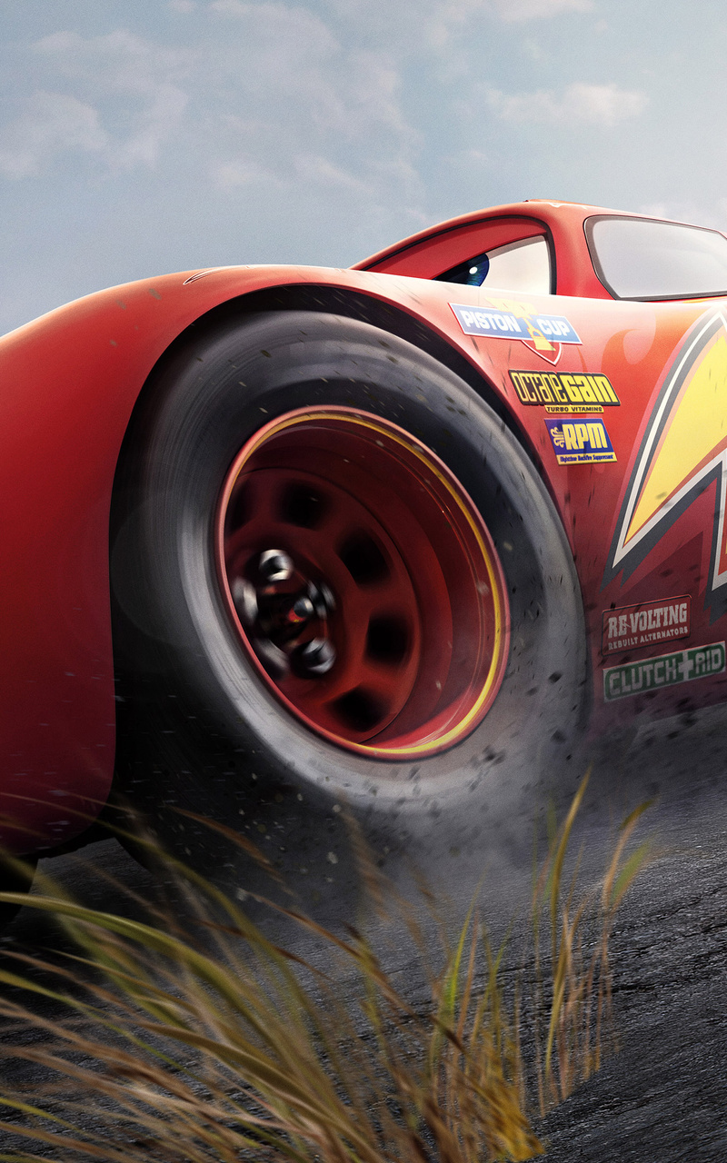 800x1280 Lightning Mcqueen Vs Cruz Ramirez Cars 3 4k Nexus 7