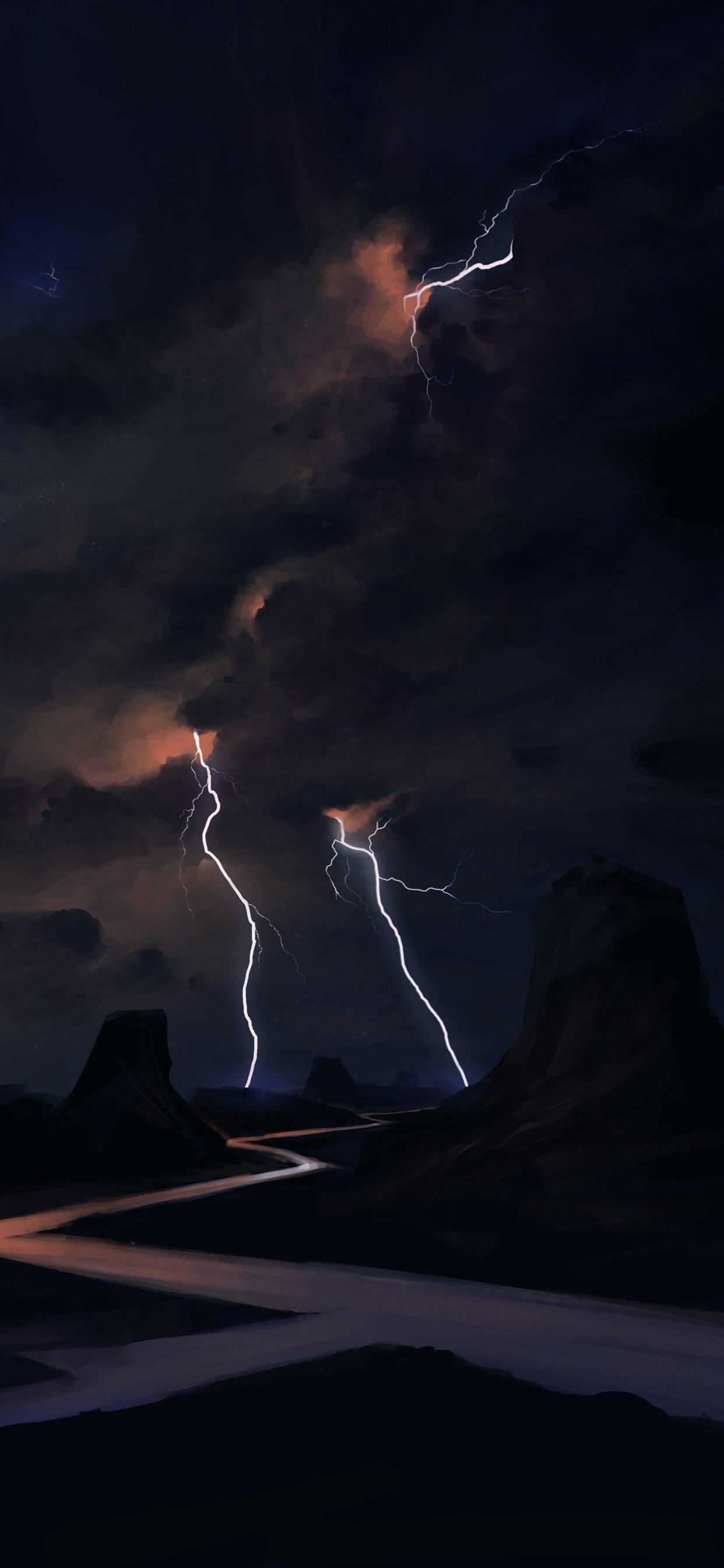Lightning Wallpaper 4k Iphone