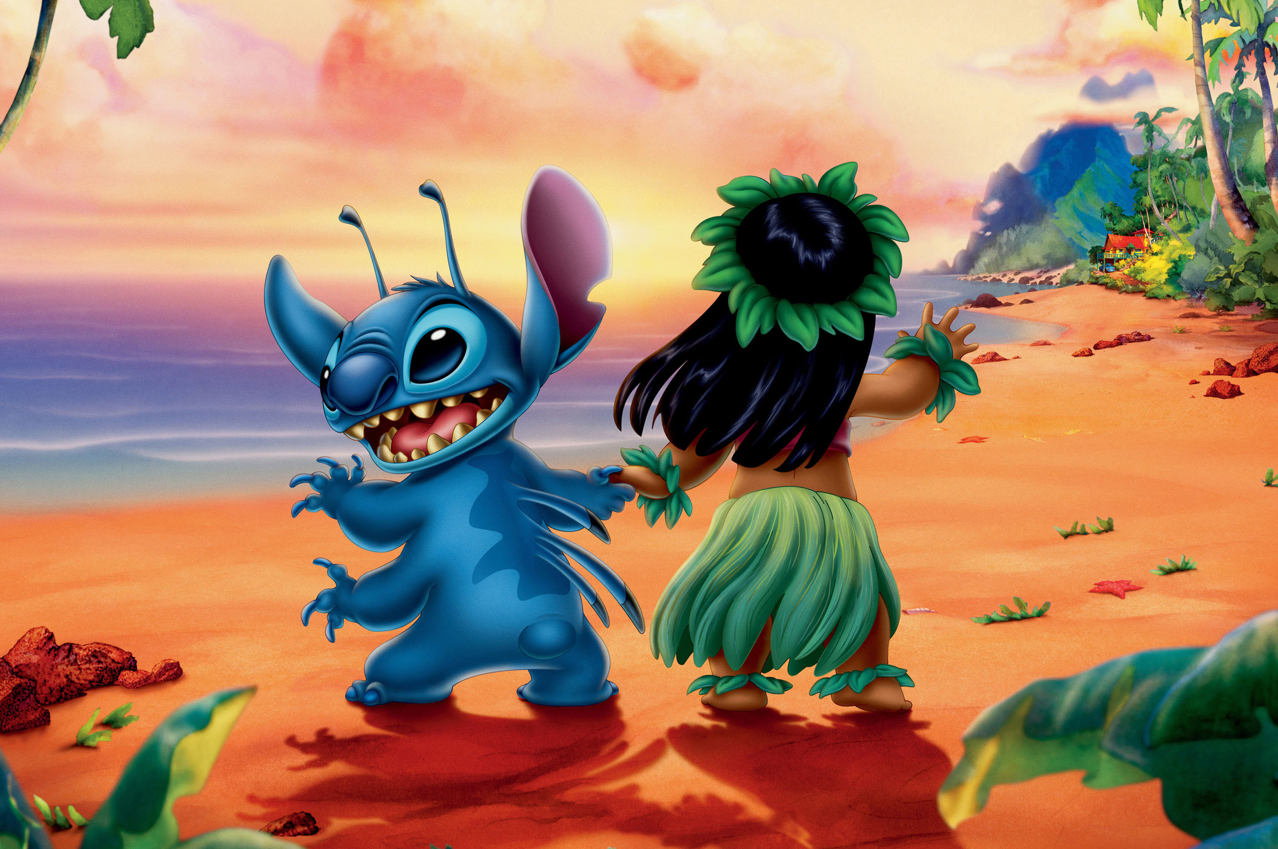2560x1700 Lilo And Stitch Chromebook Pixel Hd 4k Wallpapers Images Backgrounds Photos And Pictures