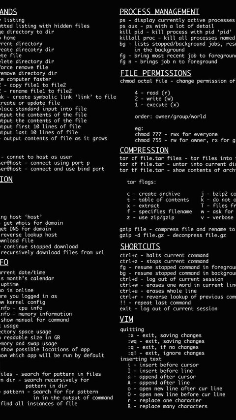 480x854 Linux Dark Command Line Android One Hd 4k Wallpapers