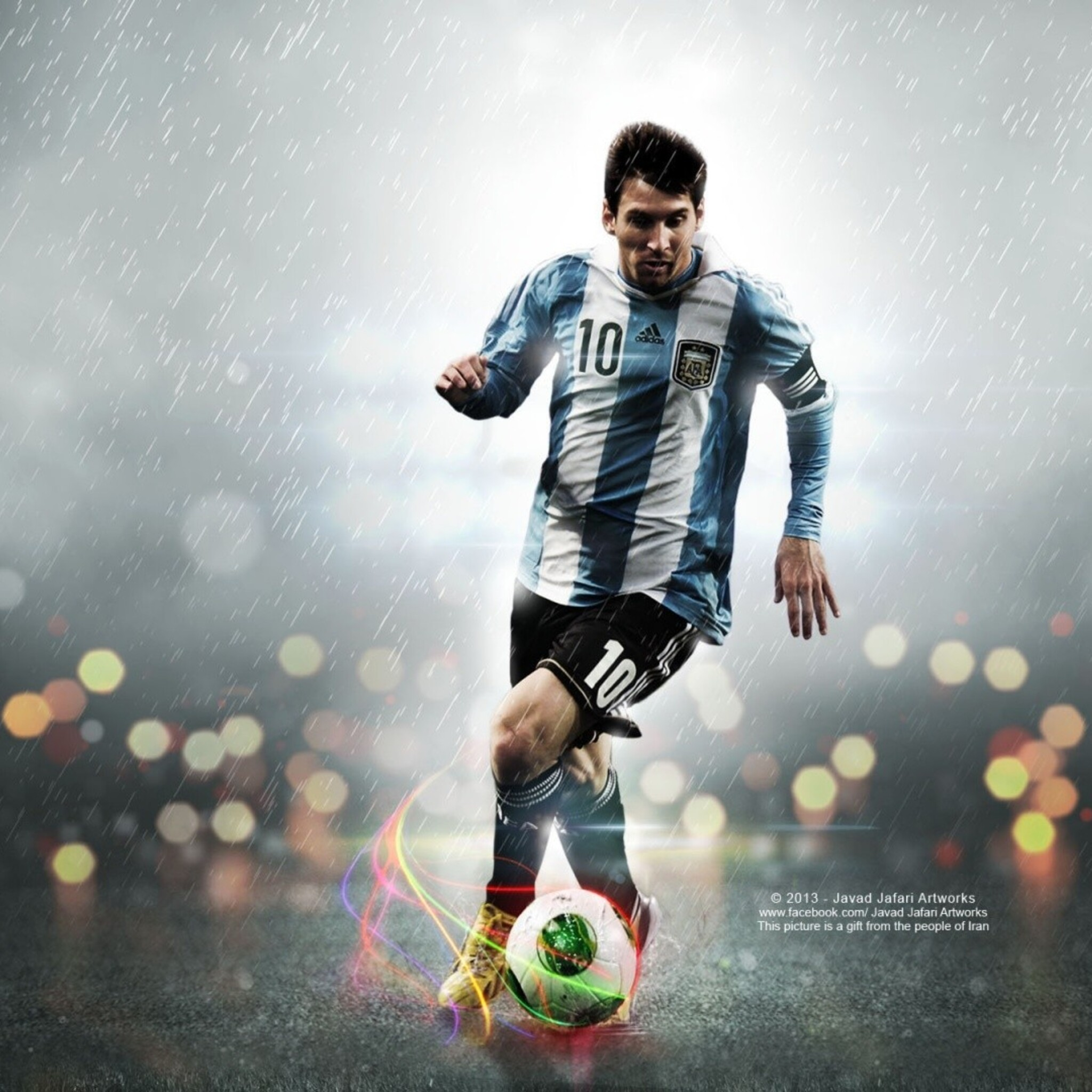 2048x2048 Lionel Messi Ipad Air HD 4k Wallpapers, Images