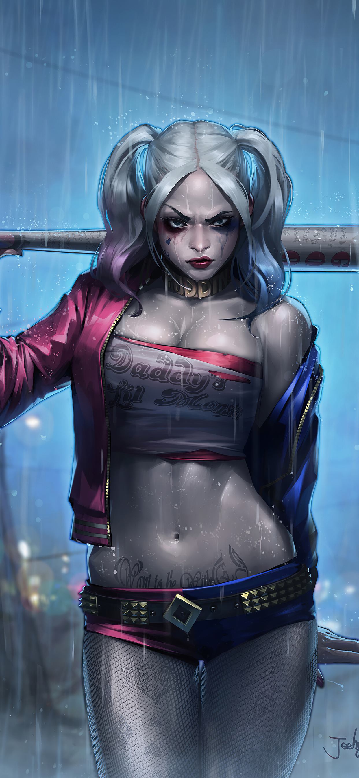 Iphone Harley Quinn Hd Wallpaper 4k