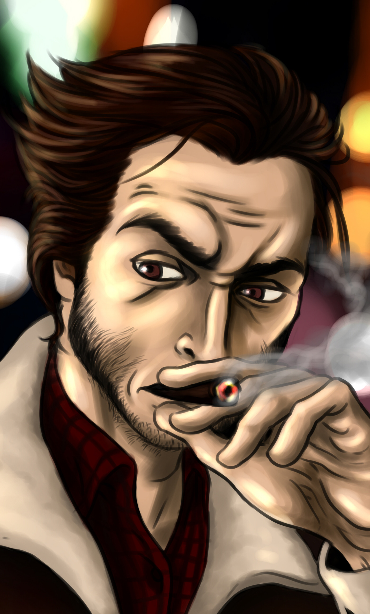 1280x2120 Logan Smoking Iphone 6 Hd 4k Wallpapers Images Backgrounds Photos And Pictures