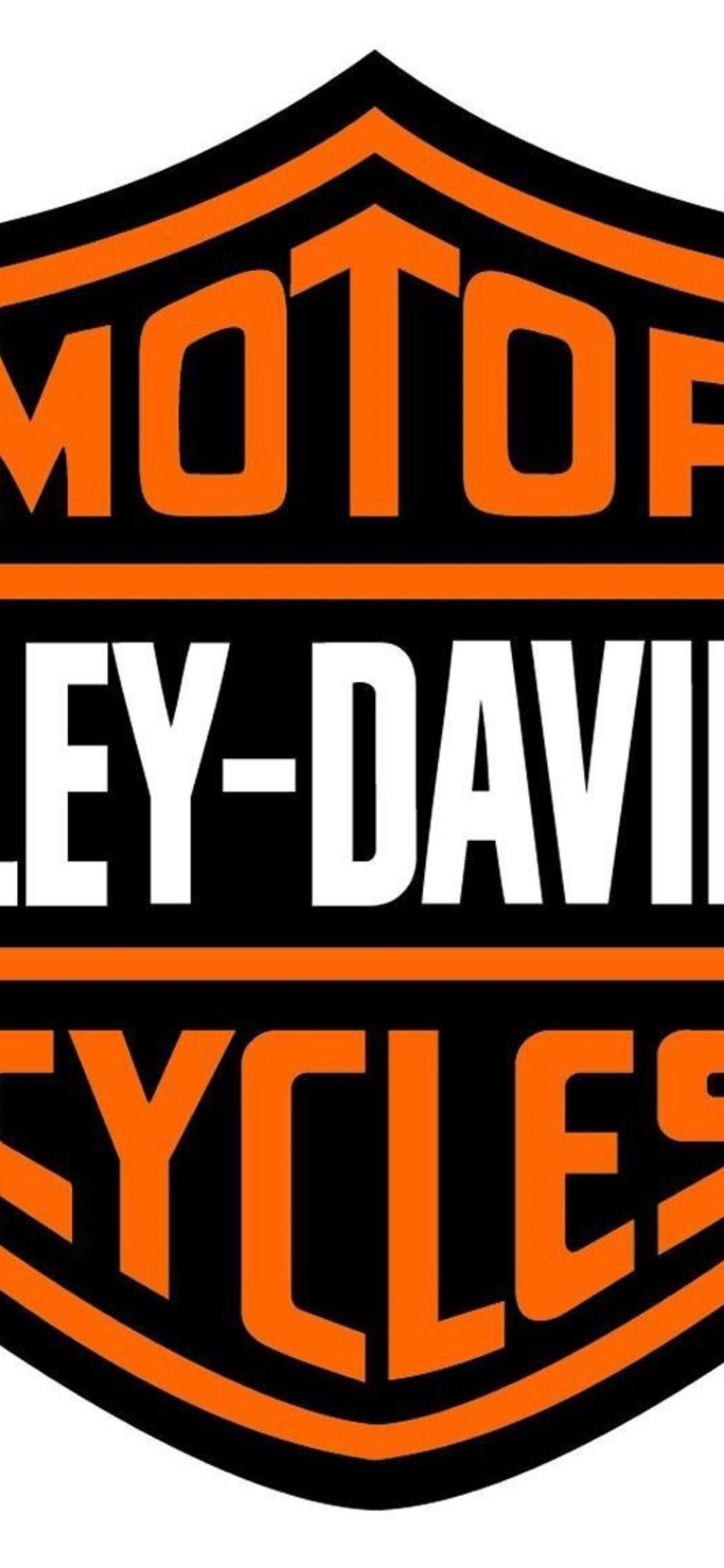 1242x2688 Logo Harley Davidson Motor Cycles Iphone Xs Max Hd 4k