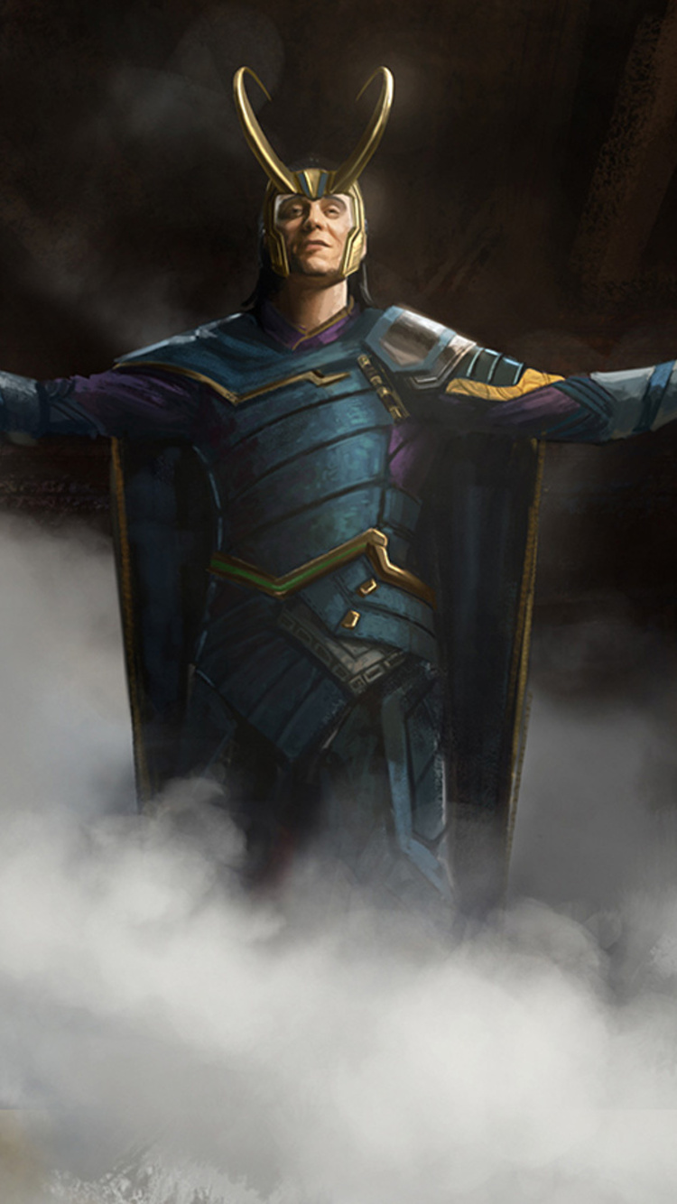 750x1334 Loki Art Iphone 6 Iphone 6s Iphone 7 Hd 4k Wallpapers