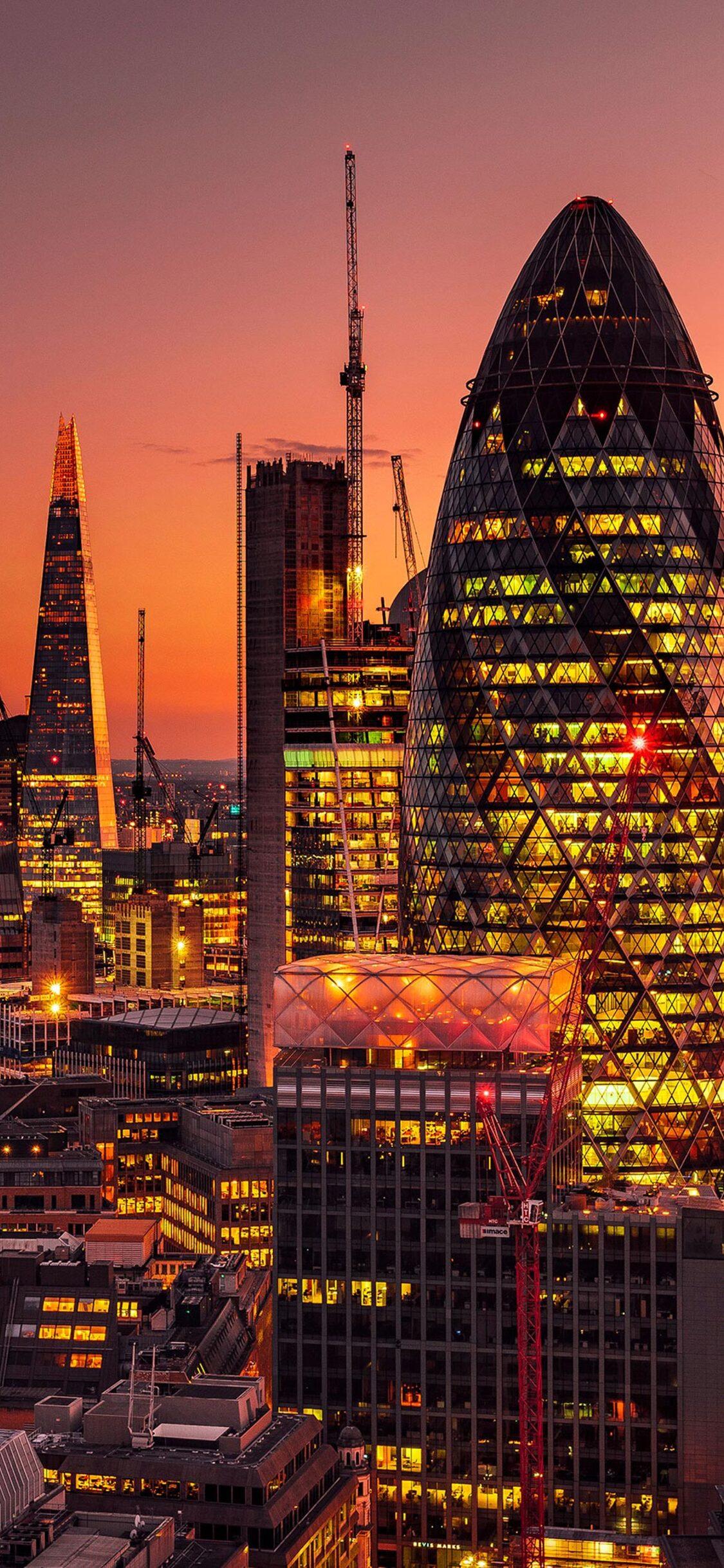 1125x2436 London Lights 4k Iphone Xsiphone 10iphone X Hd