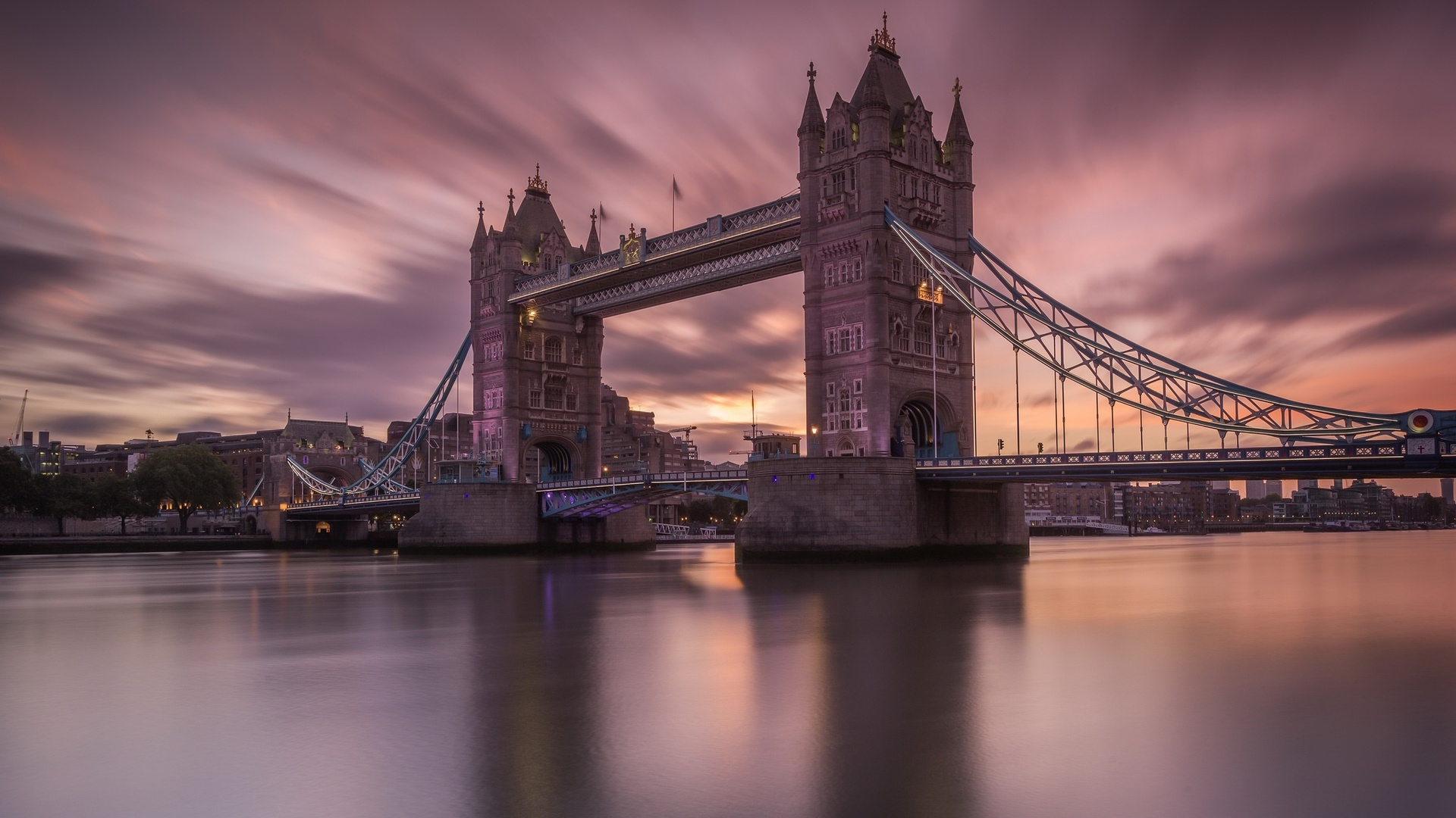 1920x1080 London Thames Tower Bridge Laptop Full HD 1080P