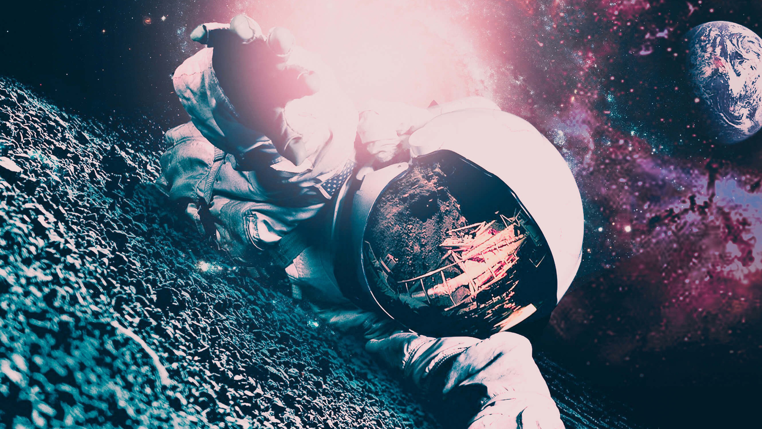 2560x1440 Lost Astronaut 1440p Resolution Hd 4k Wallpapers Images