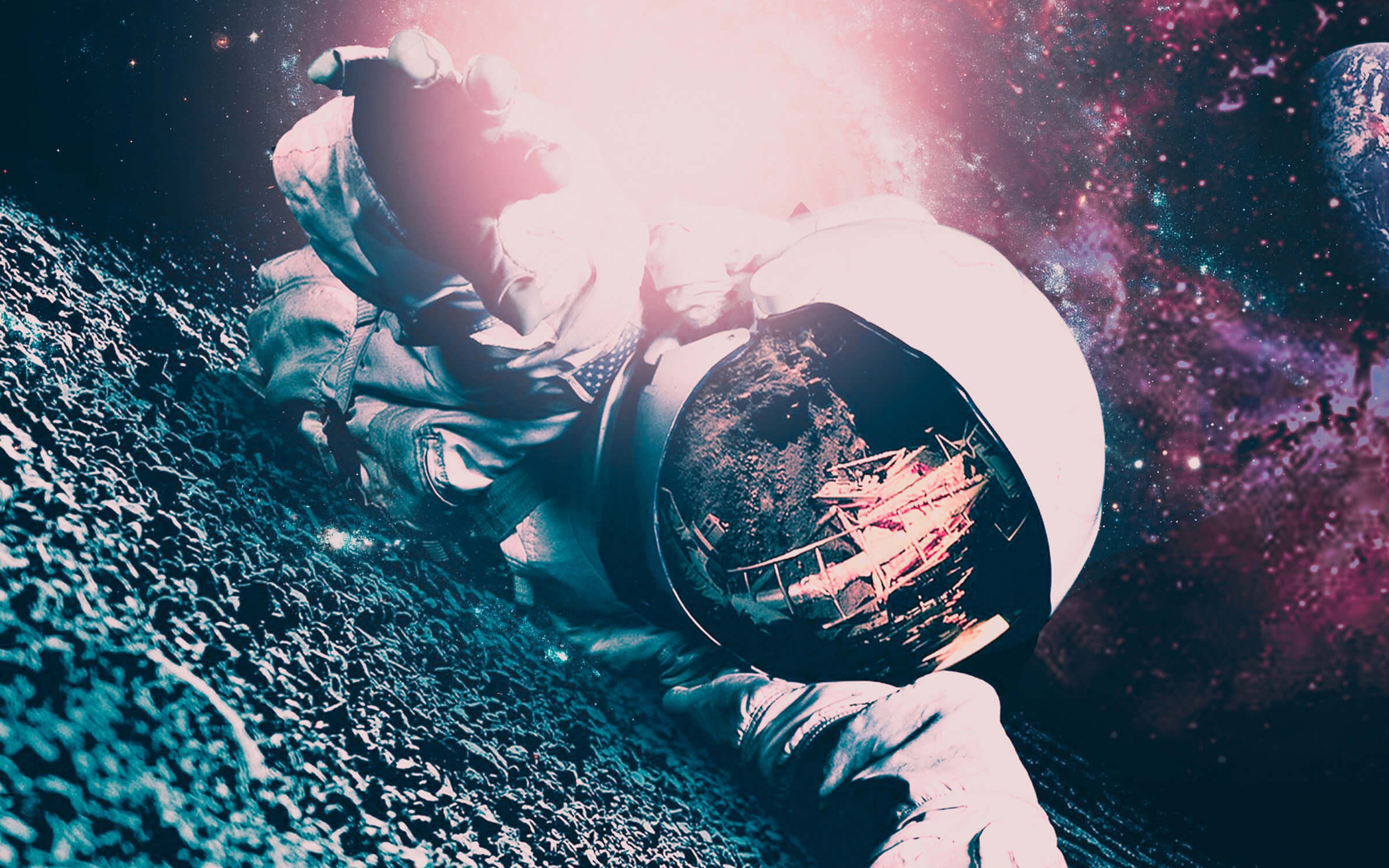 3840x2400 Lost Astronaut 4k Hd 4k Wallpapers Images Backgrounds Photos And Pictures